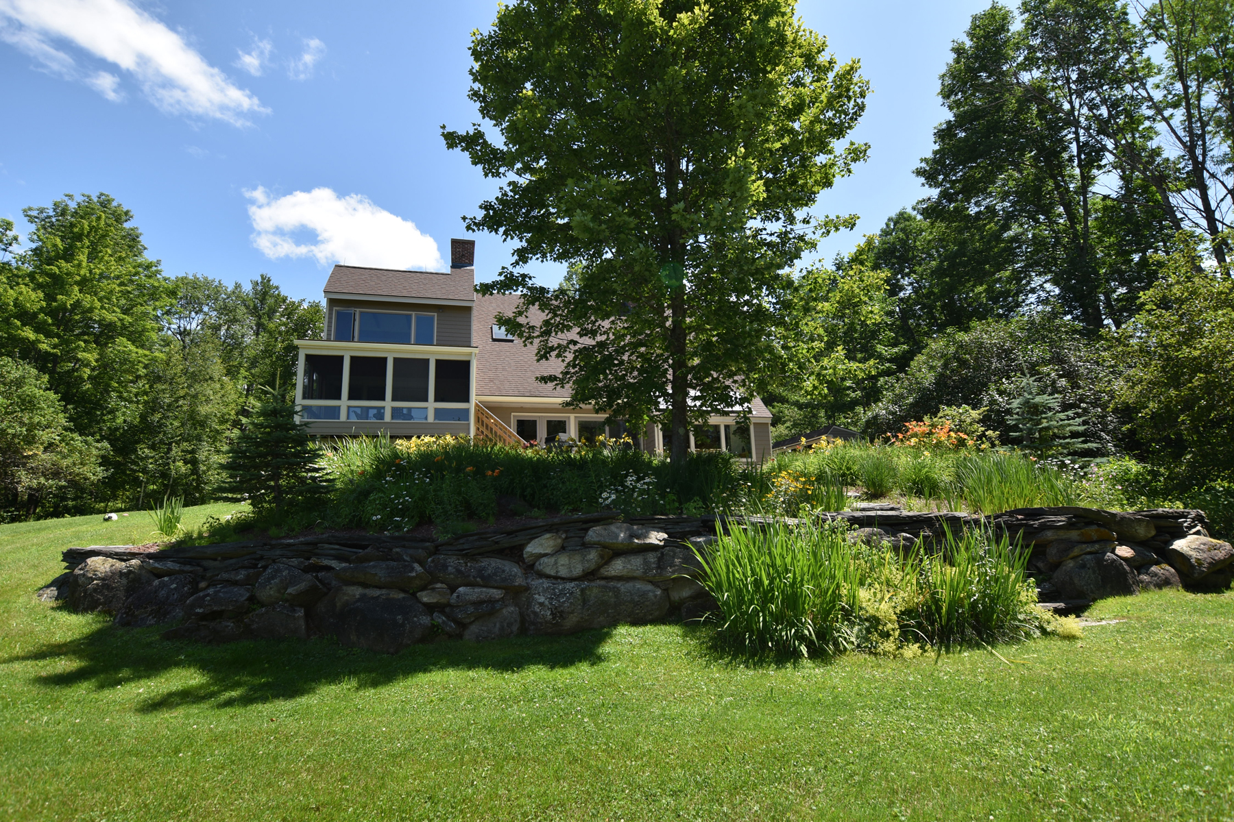 Single Family Homes for Sale at Super Cool Home with Land, Views and Pond 1049H Upper Cold River Rd Shrewsbury, Vermont 05738 United States