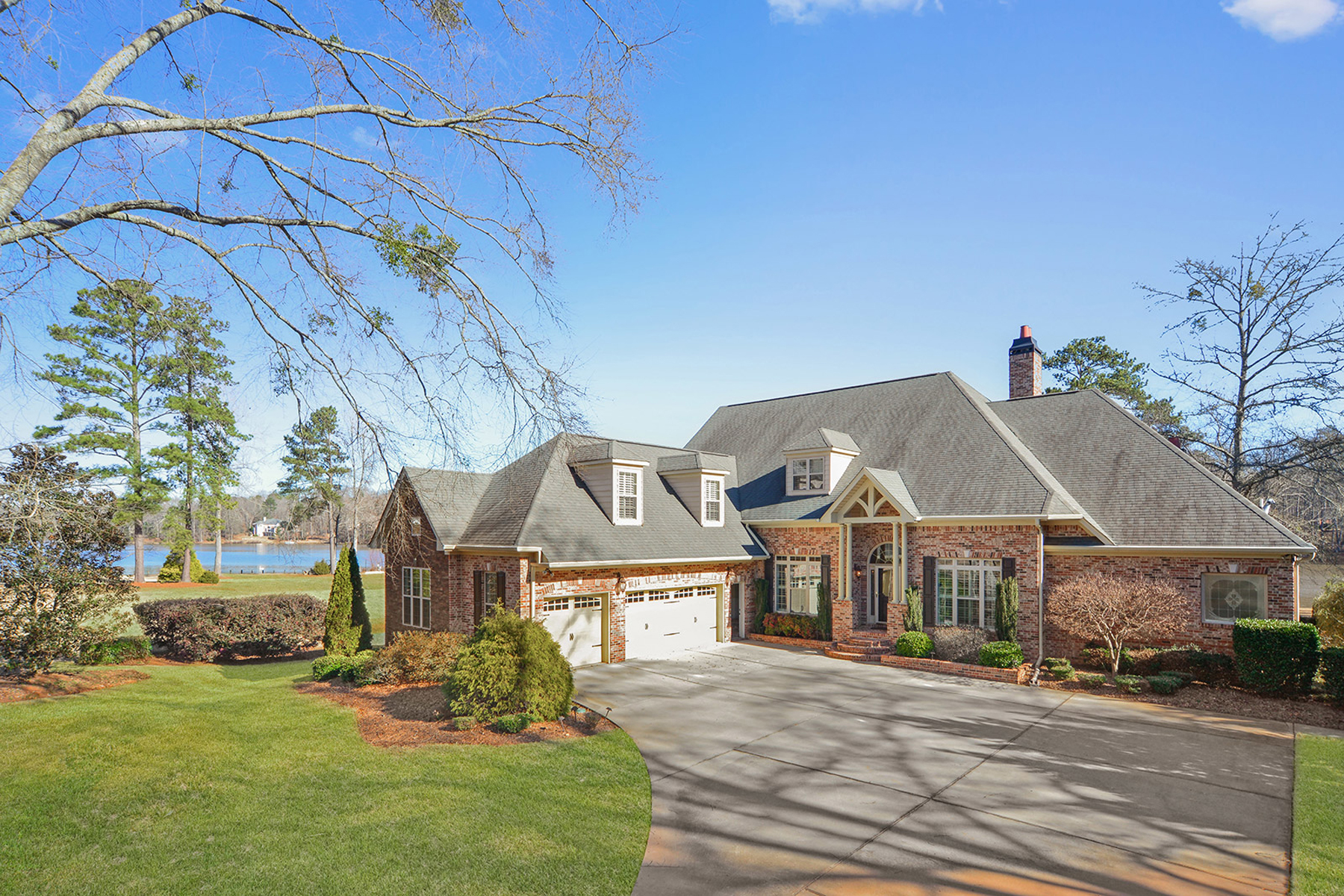 Single Family Home for Sale at Spectacular Lakefront Home 45 S Shore Drive Newnan, Georgia 30263 United States