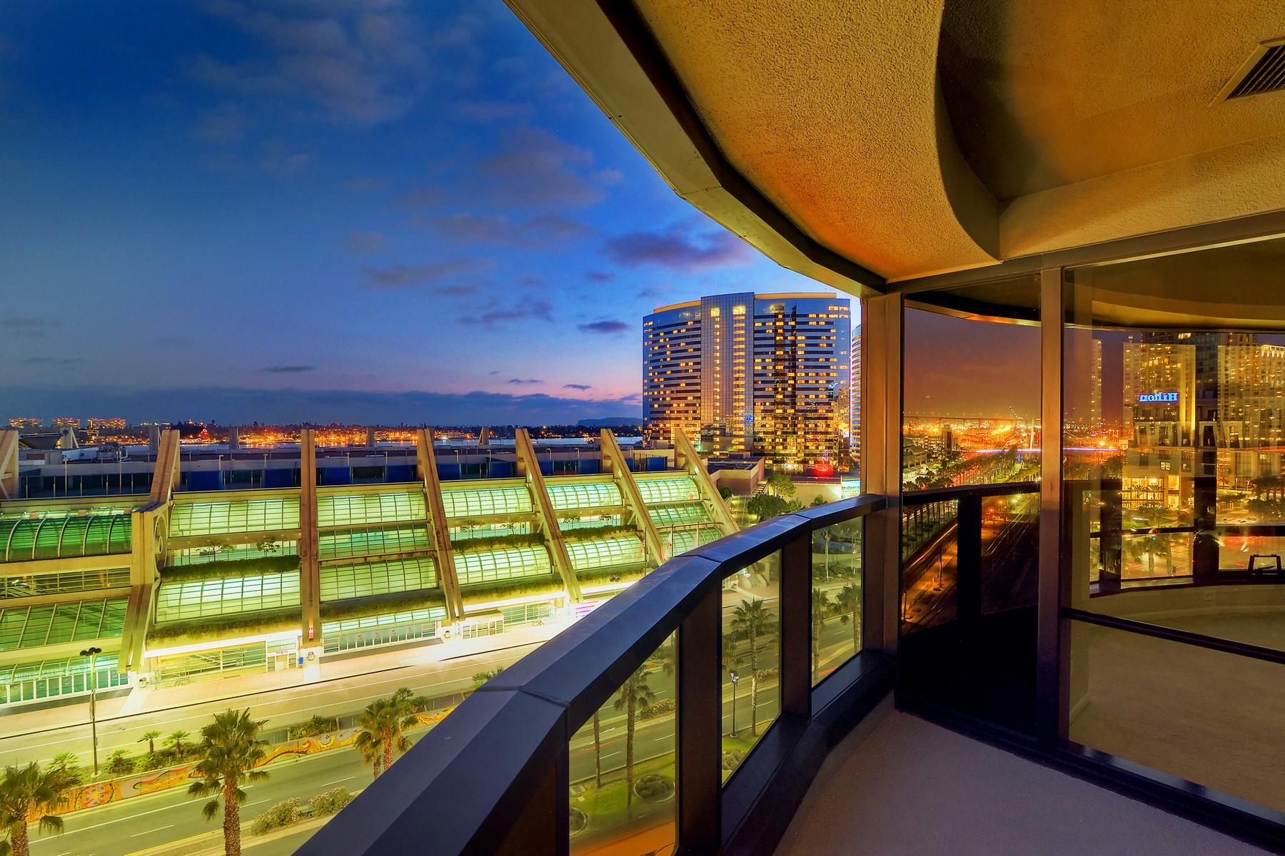Condomínio para Venda às Harbor Club 200 Harbor Drive 1102 San Diego, Califórnia, 92101 Estados Unidos