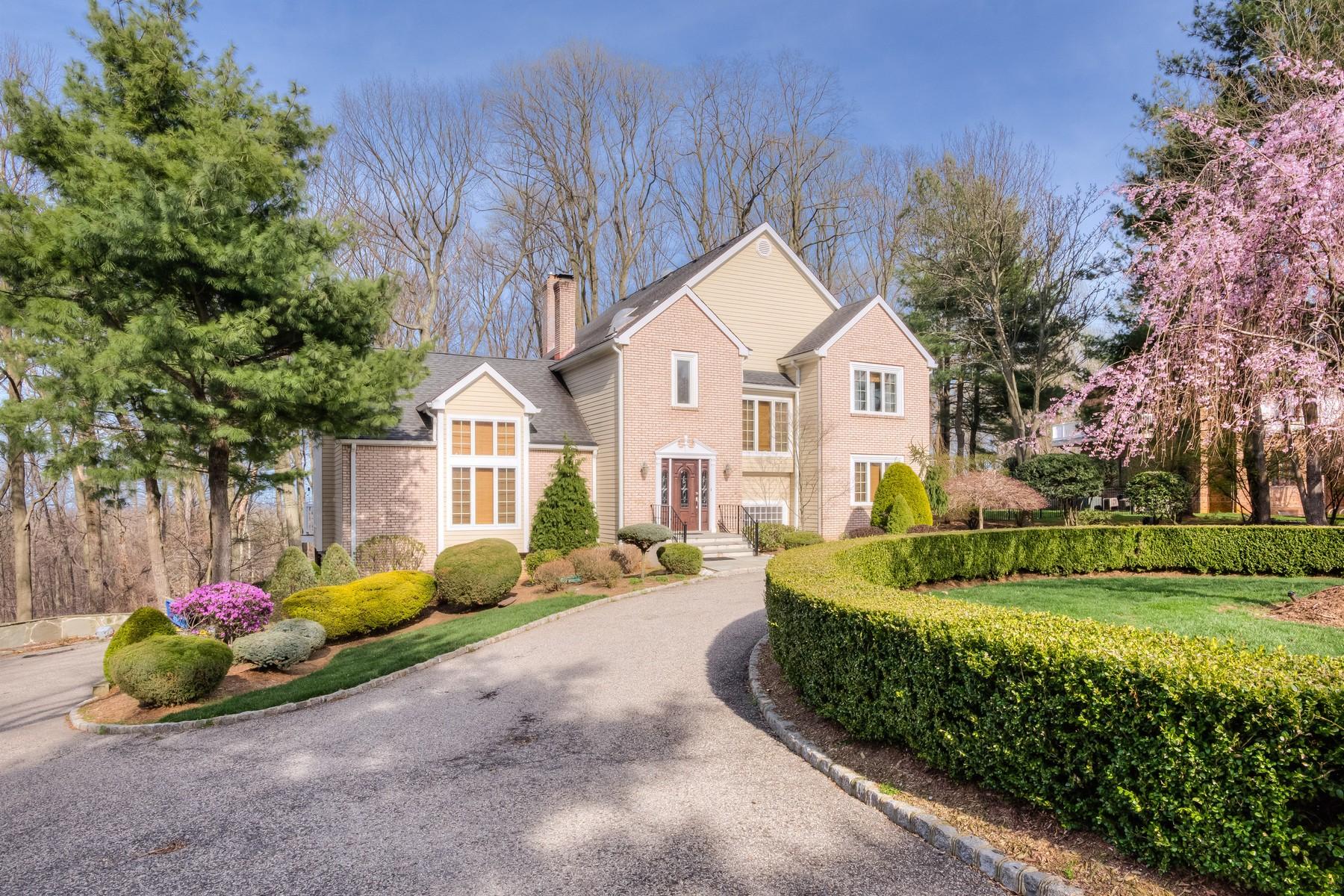 Casa Unifamiliar por un Venta en Hilltop Privacy 10 Alexis Court Holmdel, Nueva Jersey 07733 Estados Unidos