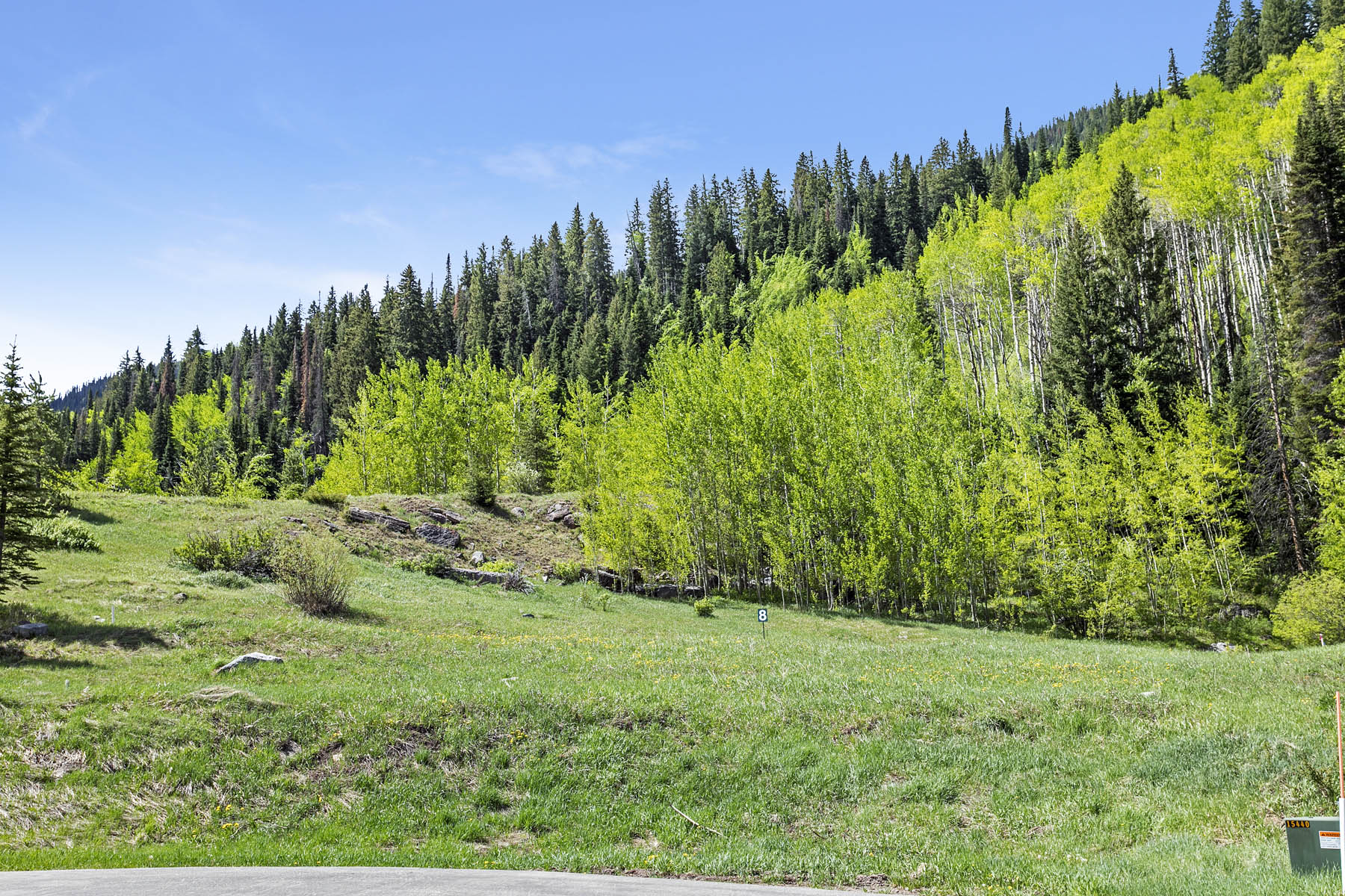 Land for Active at Nearly 1 acre with gorgeous views of Bald Mountain 4480 Glen Falls Lane Vail, Colorado 81657 United States
