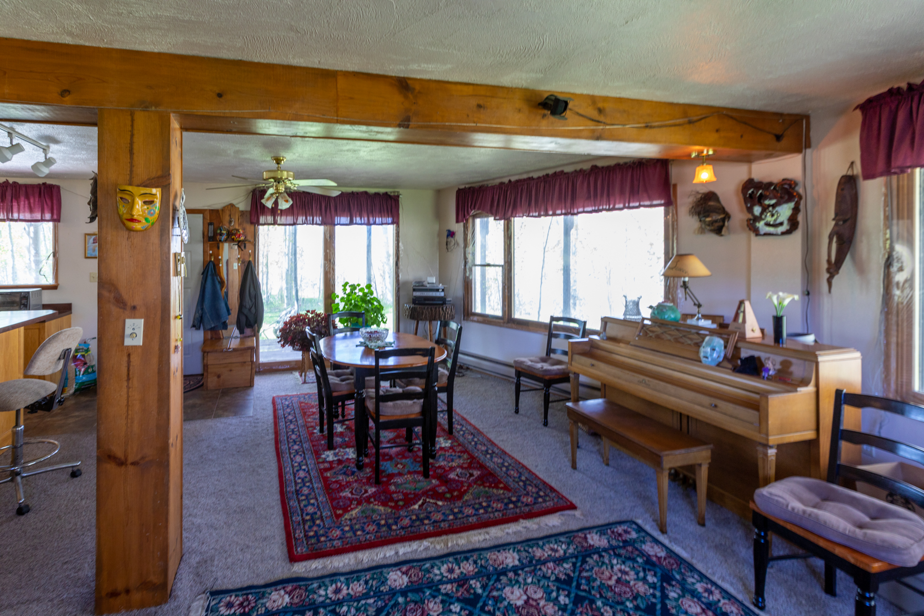Single Family Homes for Sale at Secluded 14 Acre Property with River Frontage 76 Dragon Lane Gunnison, Colorado 81230 United States