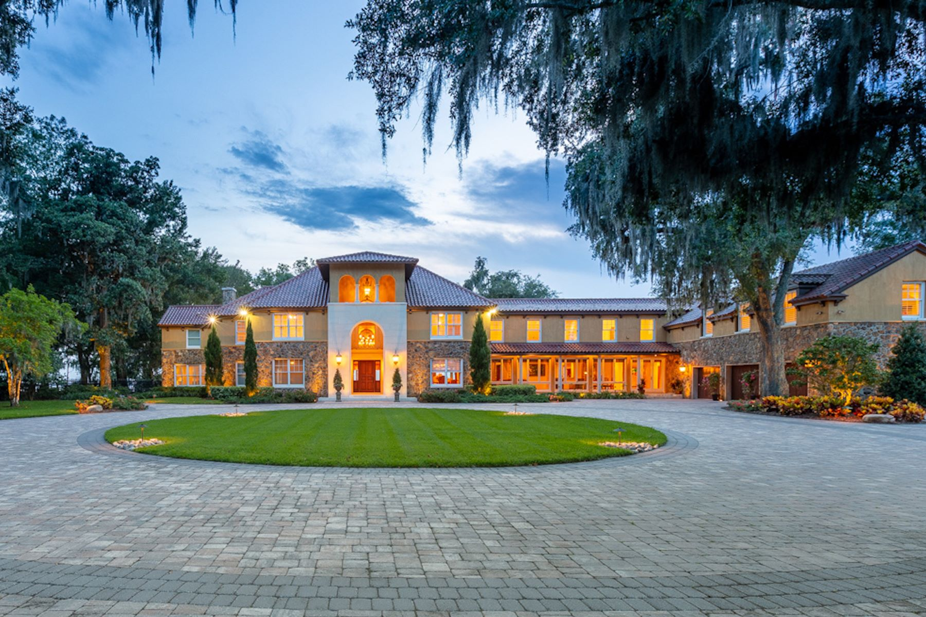Single Family Homes for Active at Luxury Mediterranean Estate 8652 Cathedral Oaks Place West Jacksonville, Florida 32217 United States