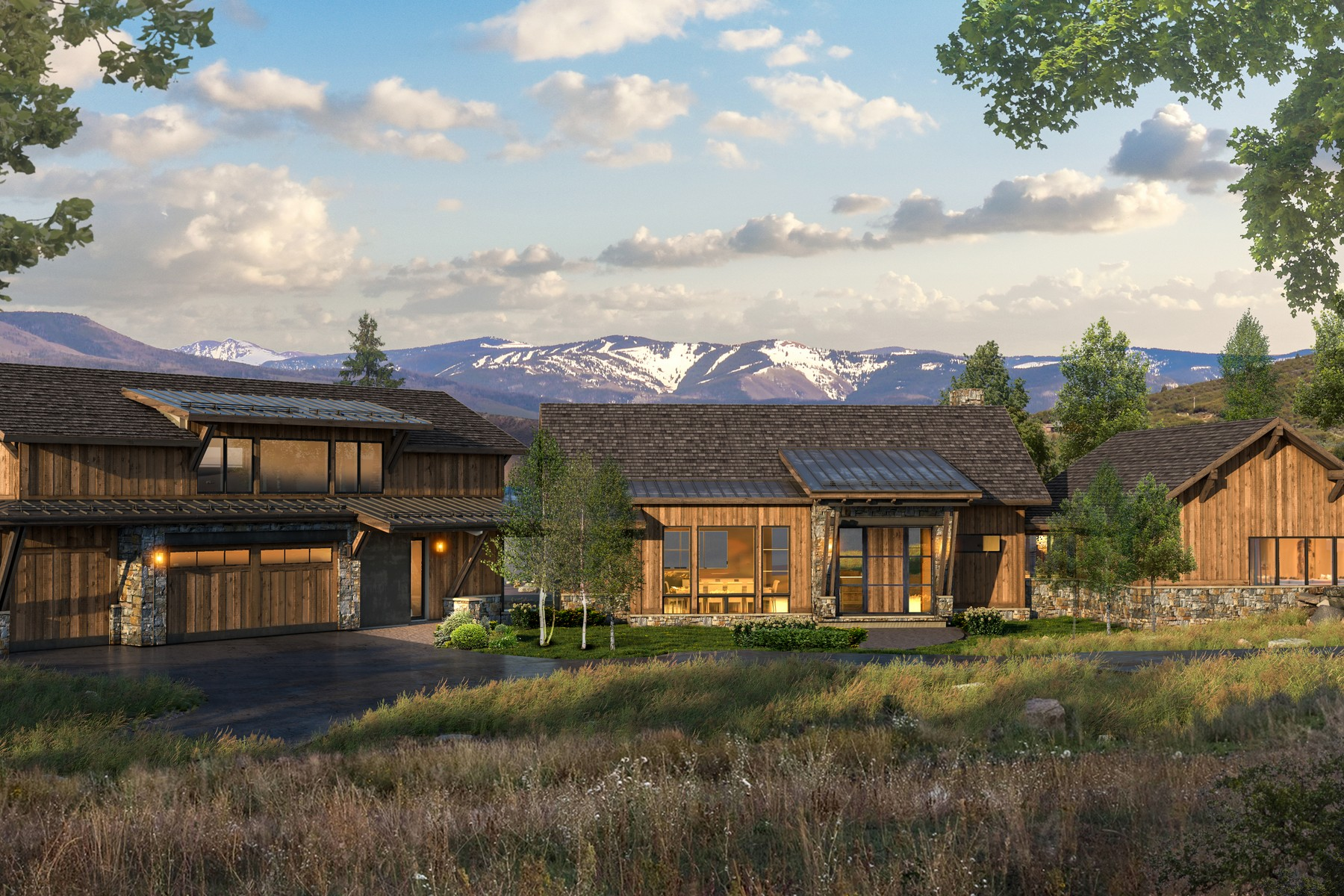 Single Family Homes for Active at Beautiful new mountain modern construction 786 Aspen Bluff Lane Wolcott, Colorado 81655 United States