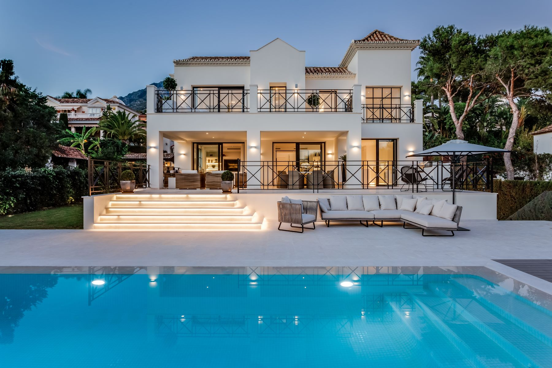 Single Family Homes for Sale at Exclusive Contemporary Villa in Sierra Blanca Marbella, Andalucia Spain
