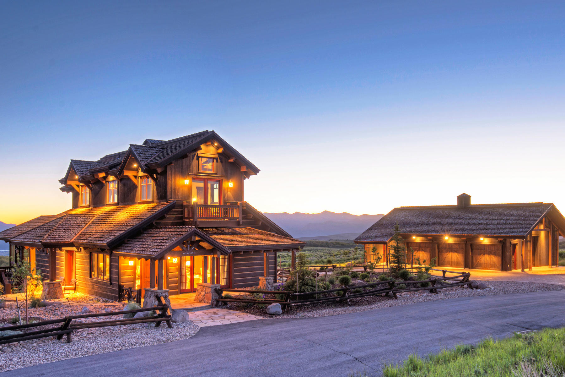 Single Family Home for Sale at Wolf Creek Ranch Exclusive Estate with Superb views! 10454 Forest Creek Rd Woodland, Utah 84036 United States