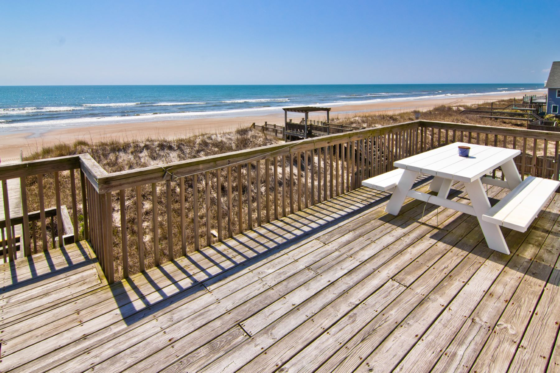 複式單位 為 出售 在 Oceanfront Home on the Pristine Shore of North Topsail Beach 3874 Island Drive, N Topsail Beach, 北卡羅來納州, 28460 美國
