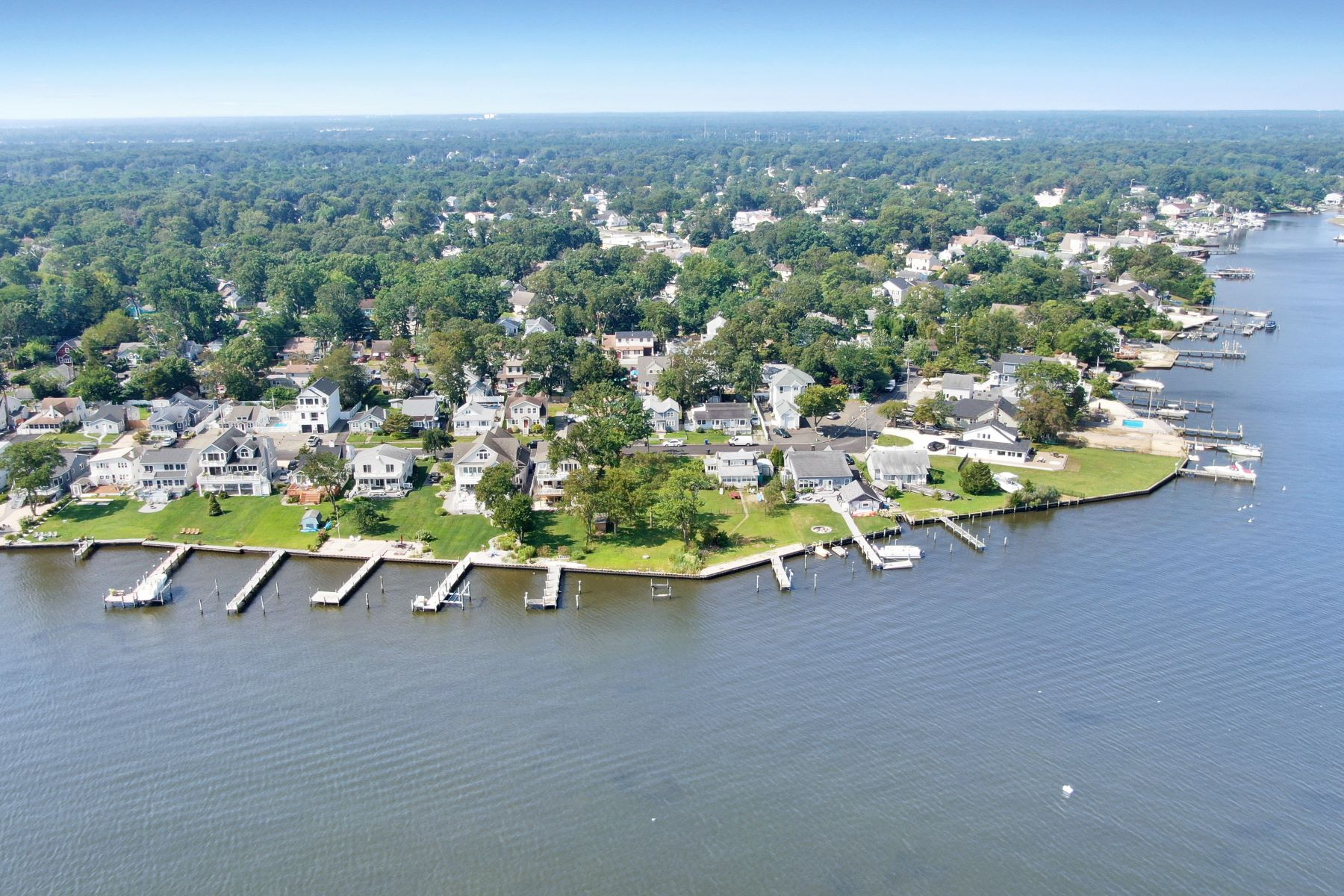 Land for Active at Breathtaking Open Waterfront Lot 45 Metedeconk Road Brick, New Jersey 08723 United States