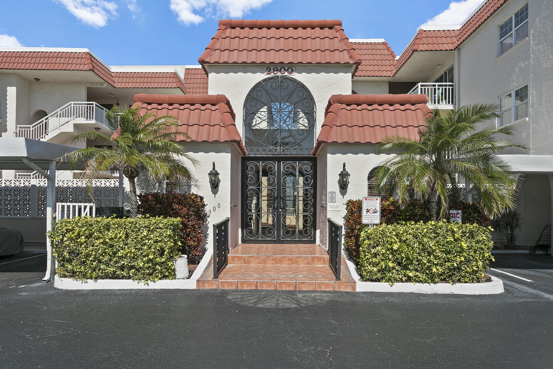 condominiums for Active at BELLEAIR BEACH 2900 Gulf Blvd , 109 Belleair Beach, Florida 33786 United States