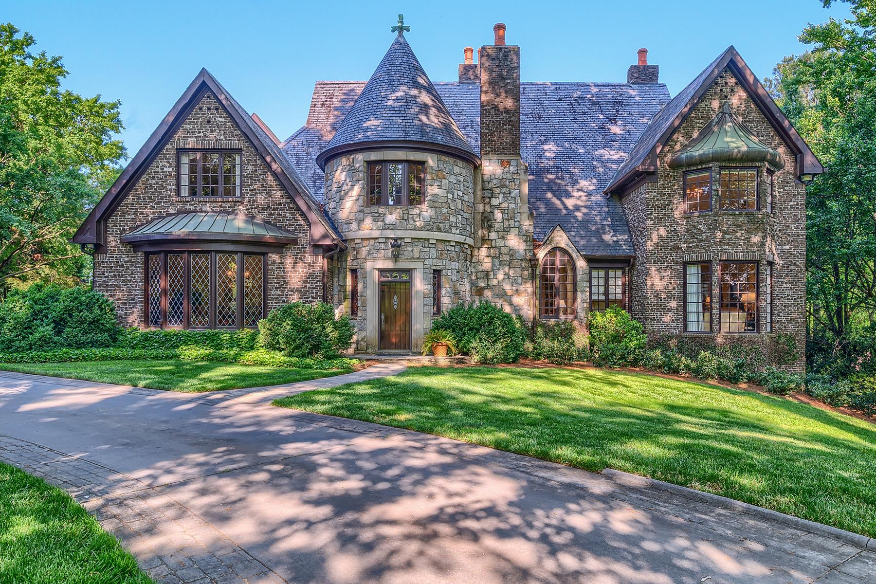 Single Family Home for Sale at An Enchanting Vinings Estate 4660 Polo Lane SE Atlanta, Georgia 30339 United States