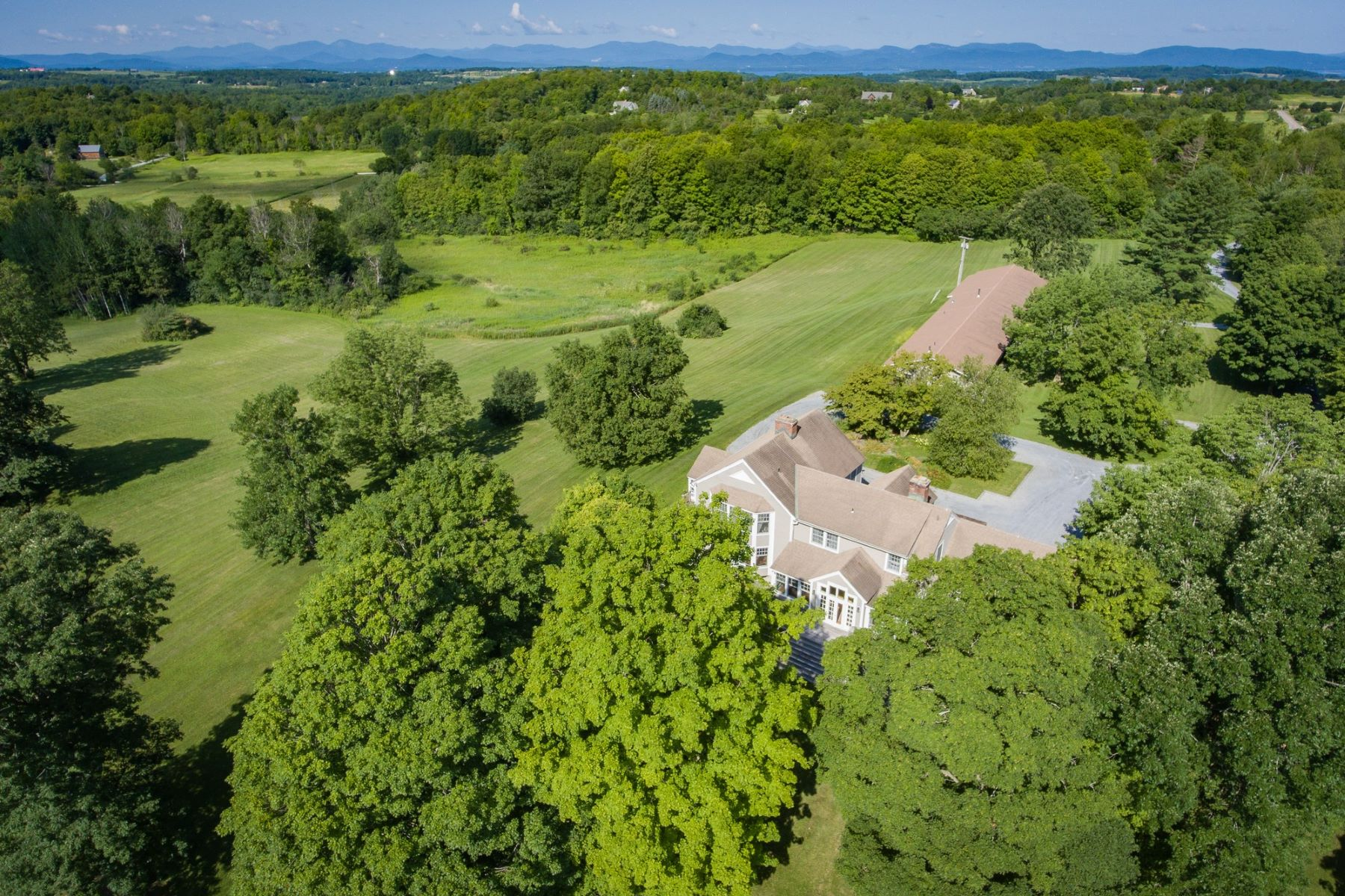 Single Family Homes for Sale at Hidden Irish Hill Estate 1348 Irish Hill Rd Shelburne, Vermont 05482 United States