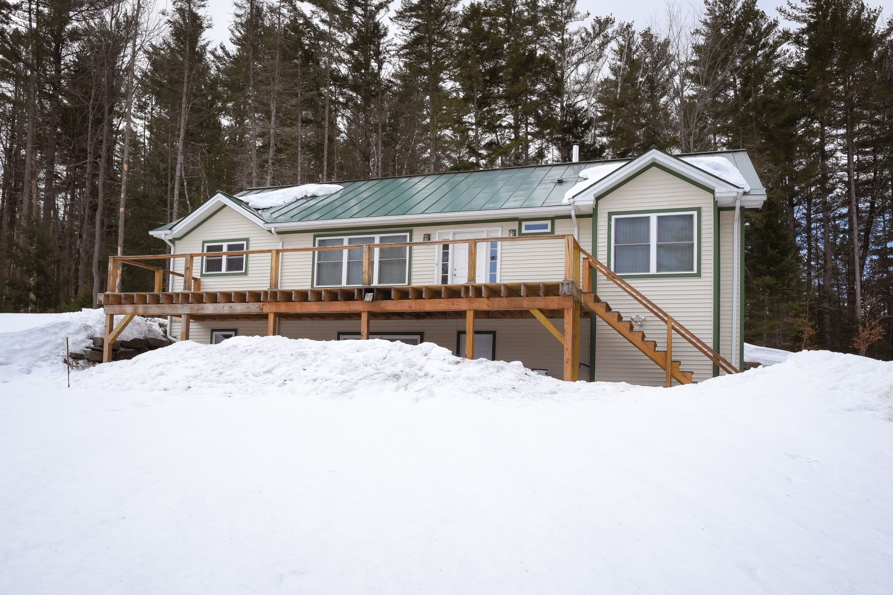 Single Family Home for Sale at Four Bedroom Ranch in Corinth 2055 Brook Rd Corinth, Vermont 05039 United States