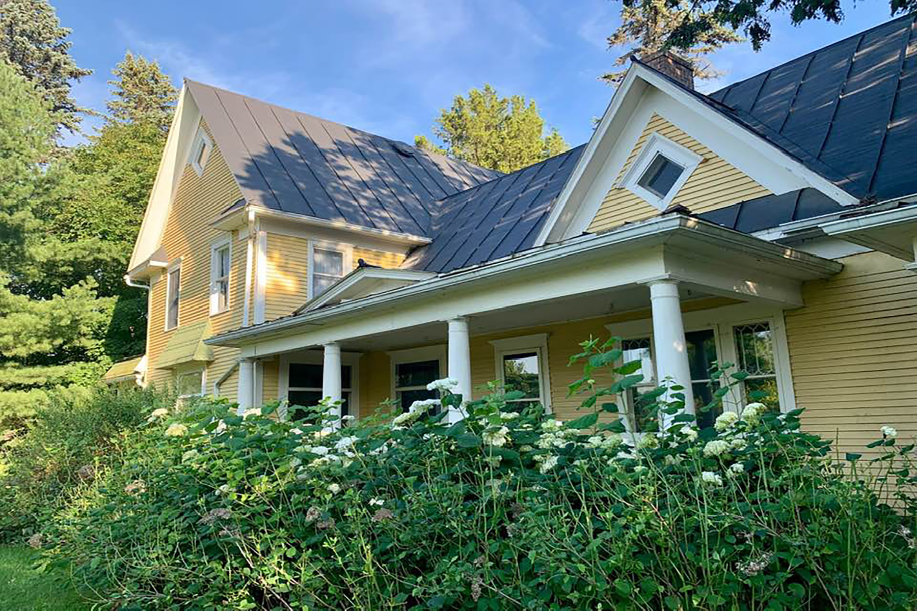 Single Family Homes for Sale at Ingham Township 1905 E. Dexter Trail Dansville, Michigan 48819 United States
