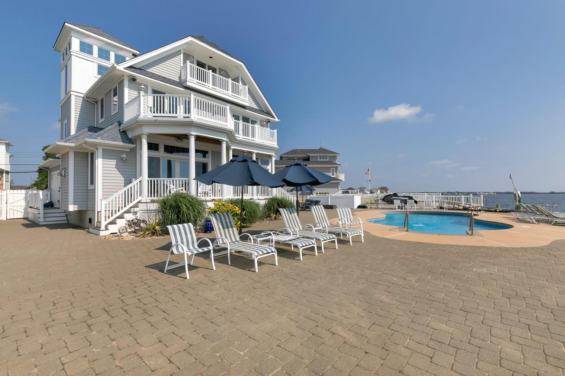 Частный односемейный дом для того Продажа на 581 Bayview Drive Toms River, Нью-Джерси 08753 Соединенные Штаты