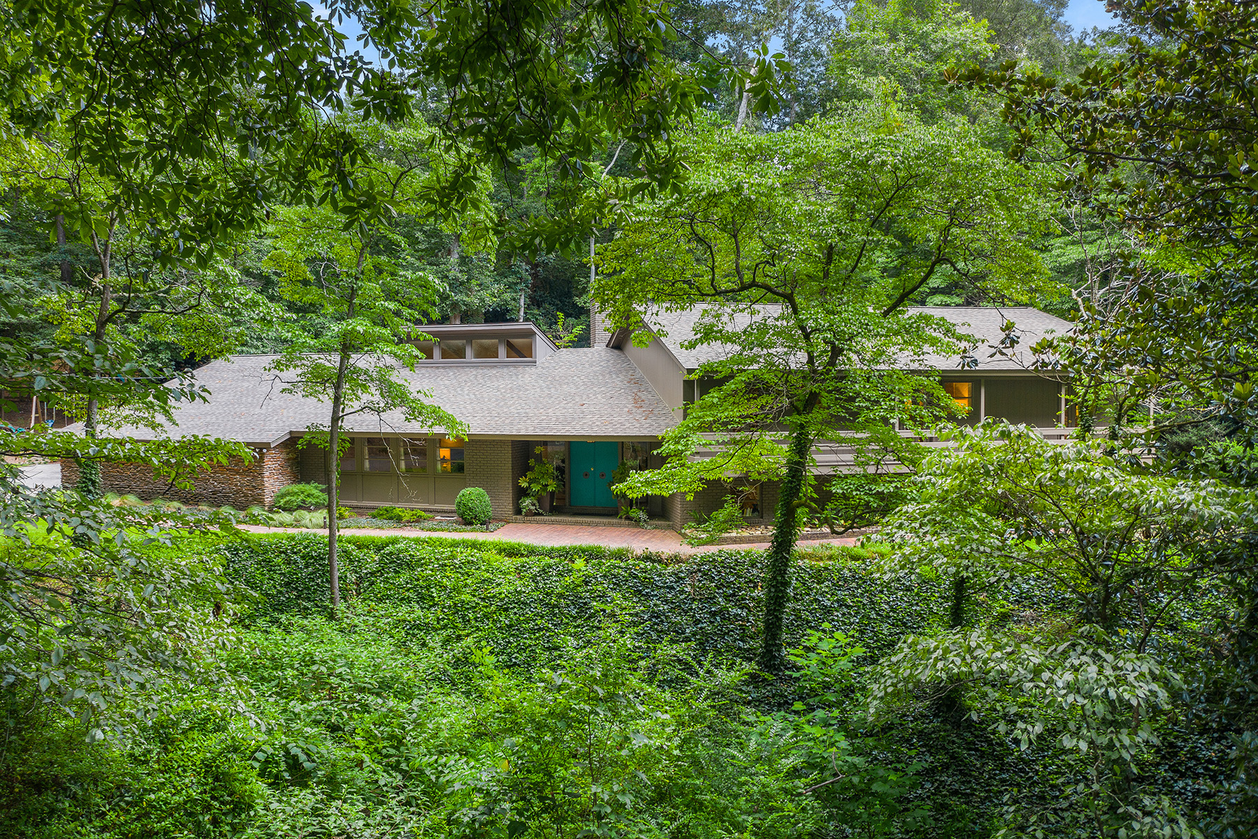 Property for Sale at Renovated Mid-Century Gem on 1.2+/- Acres 4115 Conway Valley Road Atlanta, Georgia 30327 United States