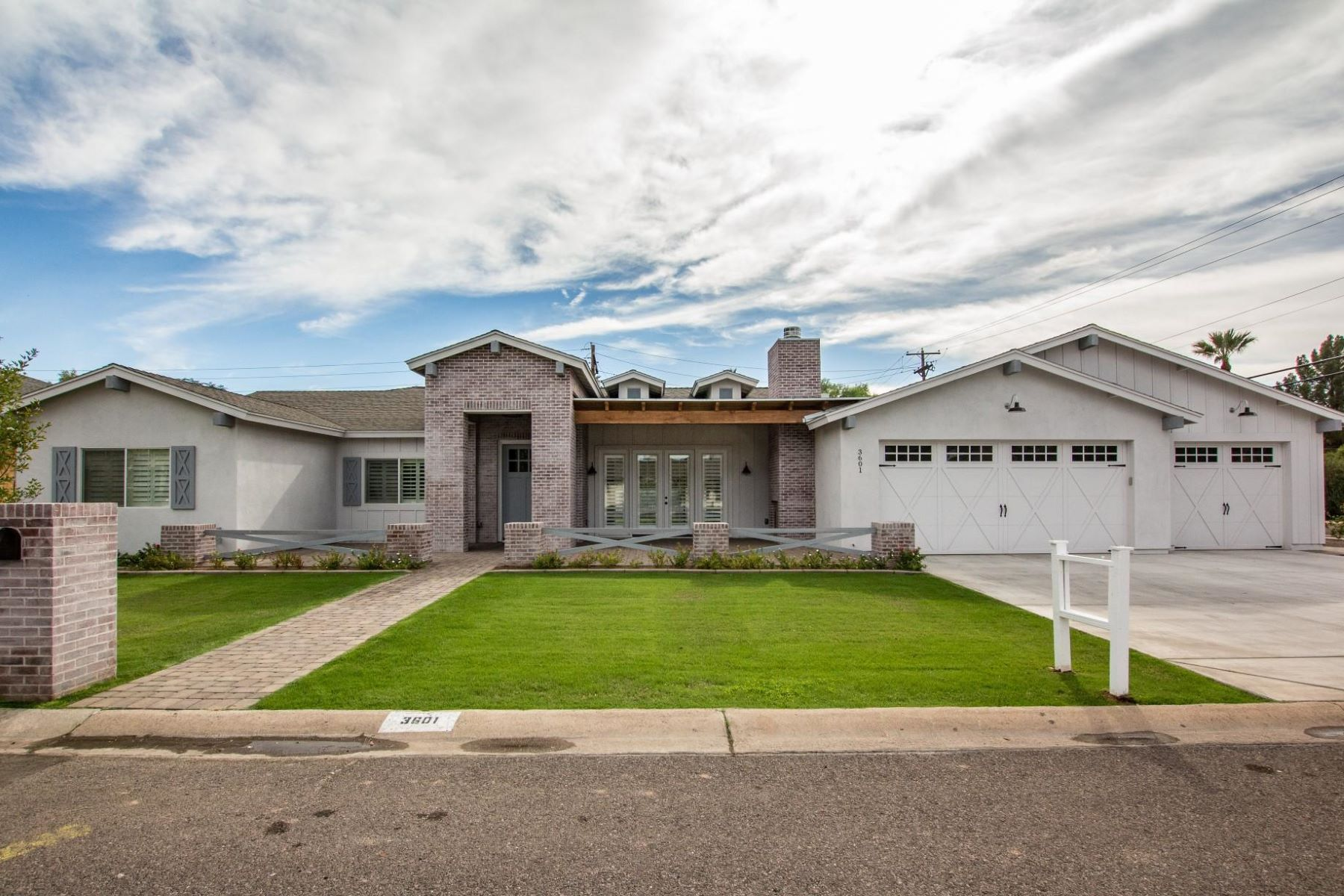 Single Family Home for Sale at Arcadia home with stunning curb appeal 3601 E Hazelwood St, Phoenix, Arizona, 85018 United States