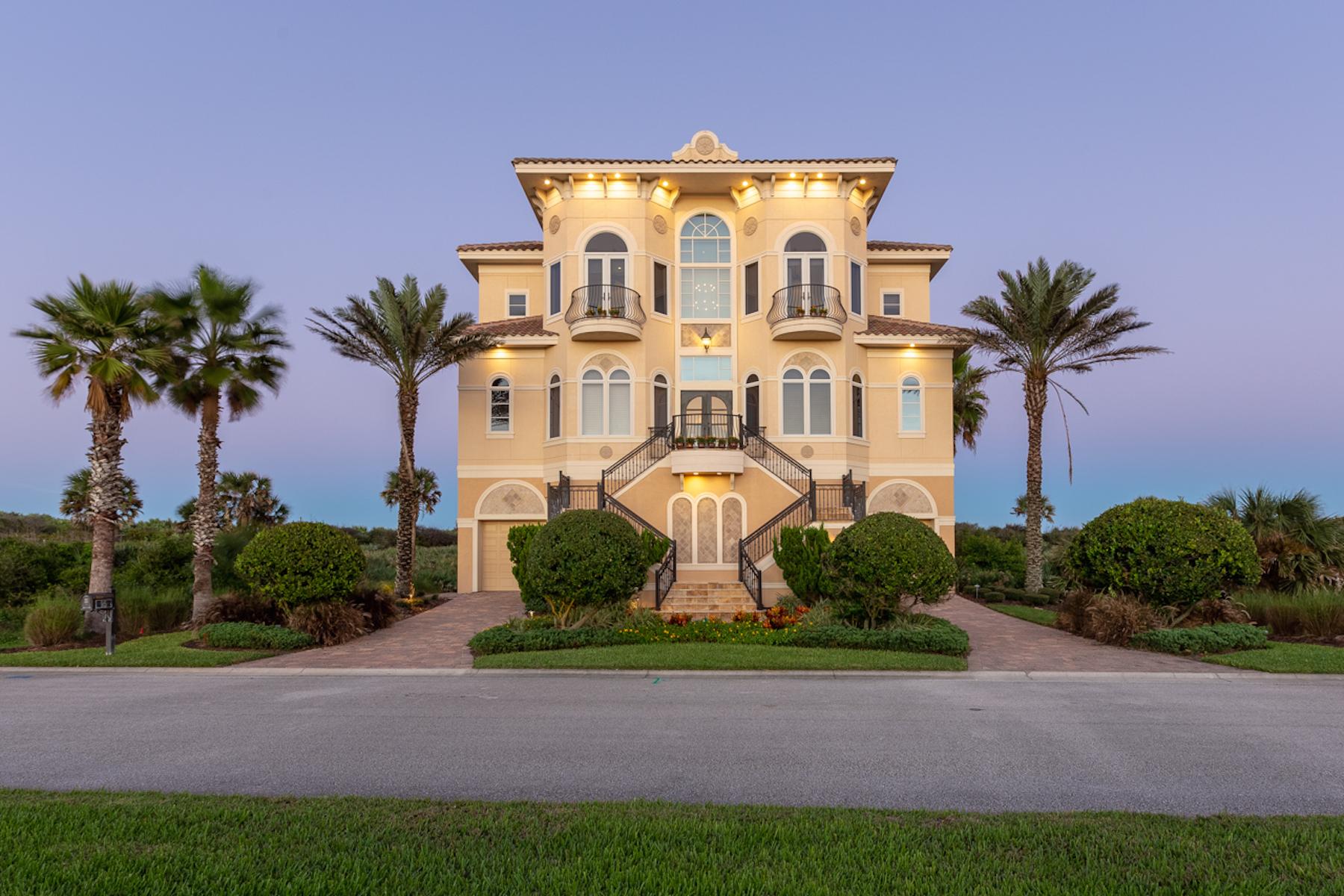 Single Family Homes için Satış at Grand Living on the Ocean 95 Calle Del Sur, Palm Coast, Florida 32137 Amerika Birleşik Devletleri