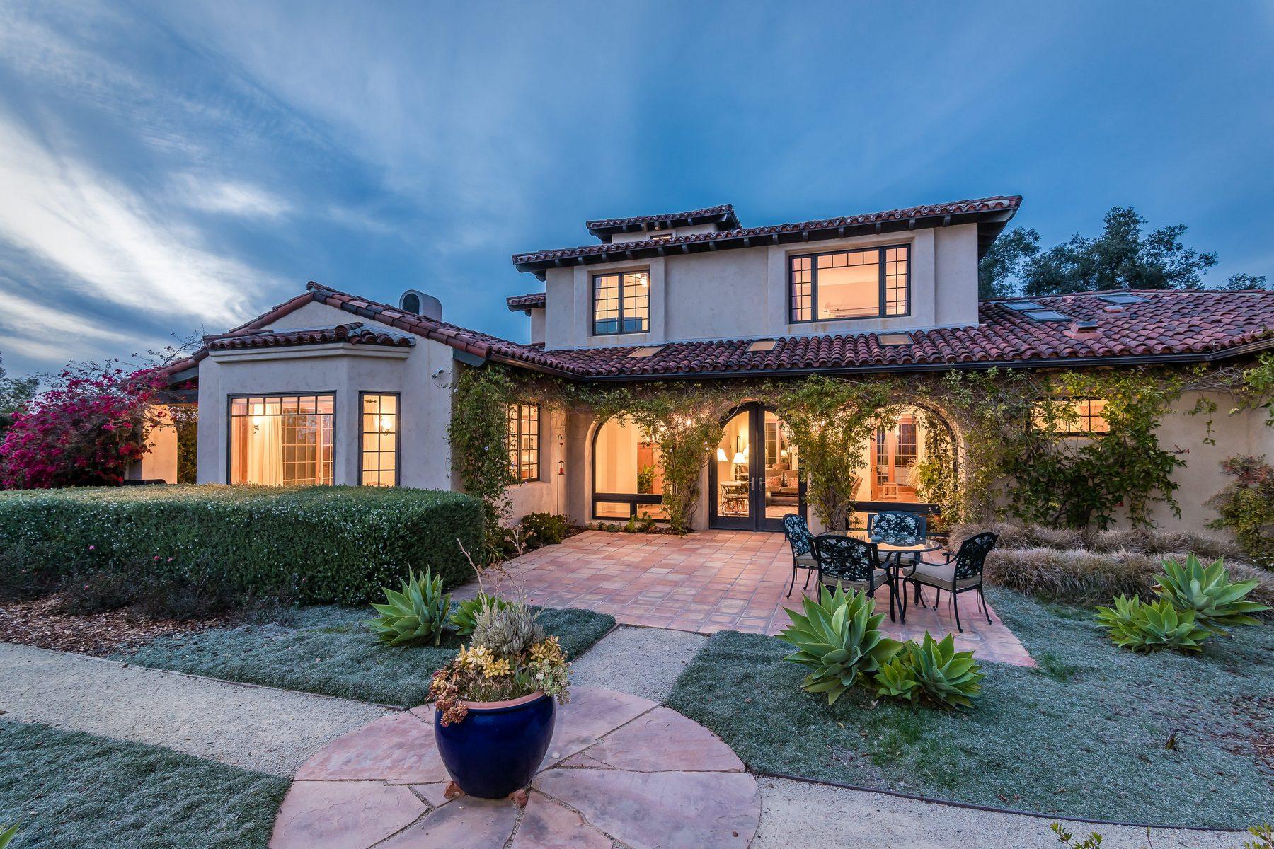 단독 가정 주택 용 매매 에 Custom Hilltop Villa 896 Via Casa Vista, Arroyo Grande, 캘리포니아, 93420 미국