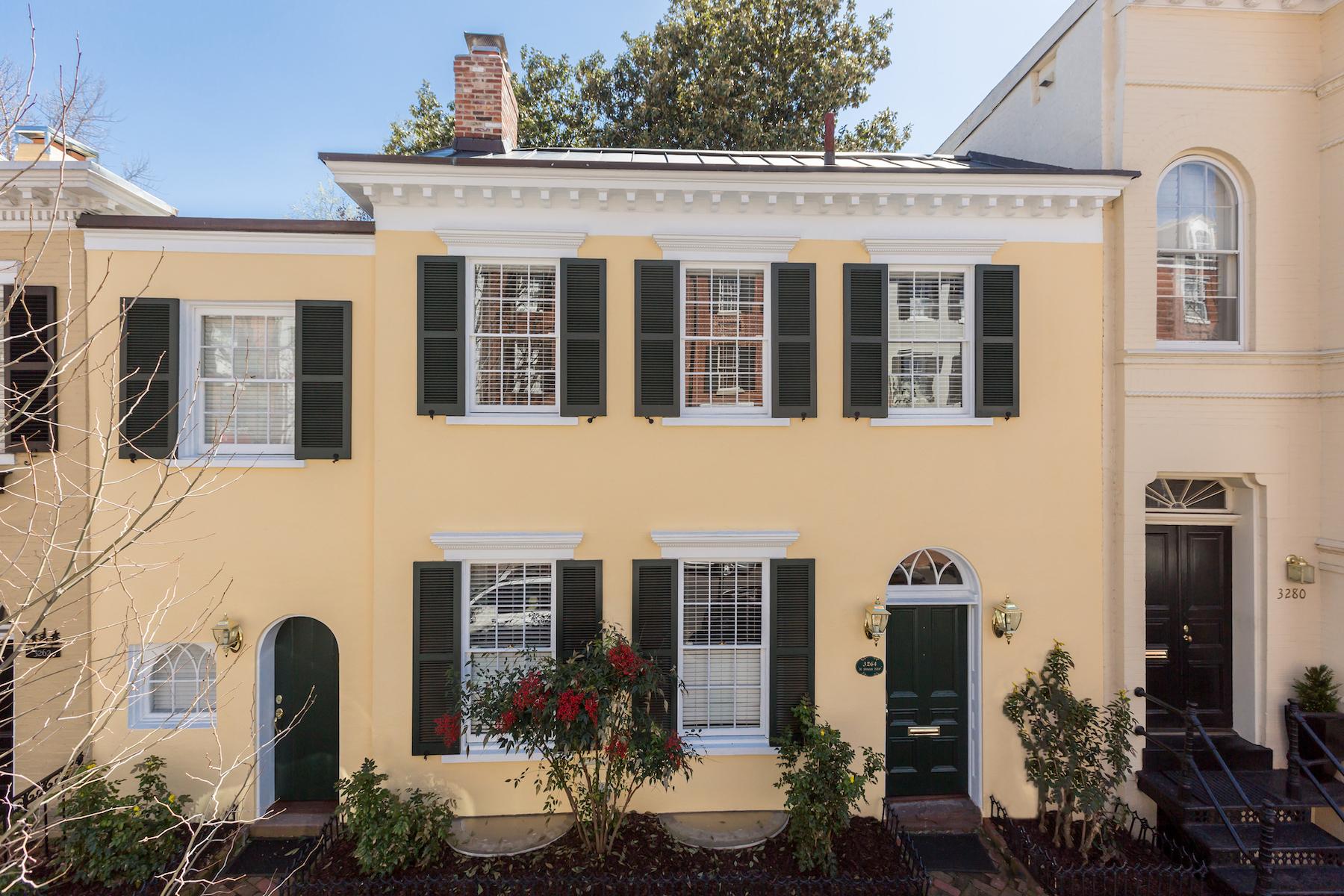 Villetta a schiera per Vendita alle ore Georgetown 3264 N Street Nw Washington, Distretto Di Columbia, 20007 Stati Uniti