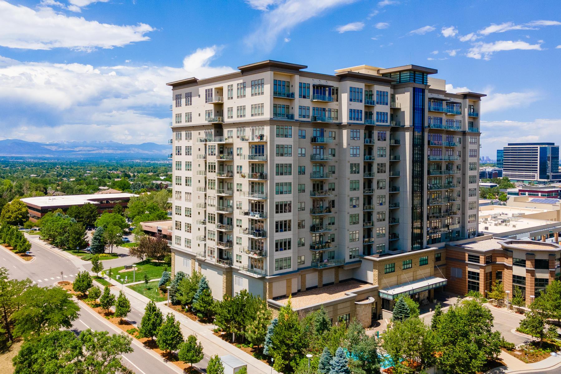 Condominiums for Active at 5455 Landmark Place Unit 1407 5455 Landmark Place, Unit 1407 Greenwood Village, Colorado 80111 United States