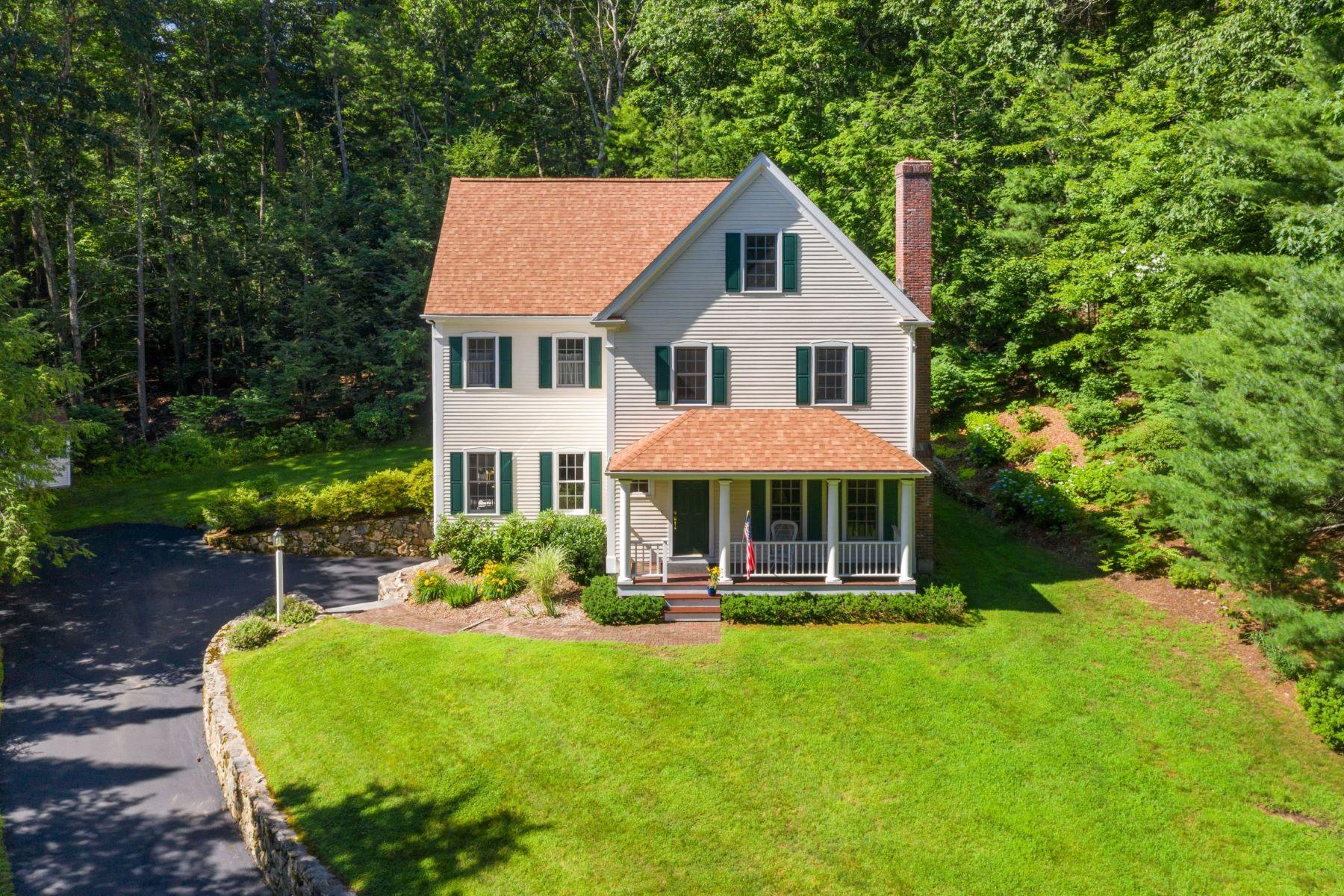 Single Family Homes 为 销售 在 15 Shady Hill Lane 15 Shady Hill Ln 萨德伯里, 马萨诸塞州 01776 美国