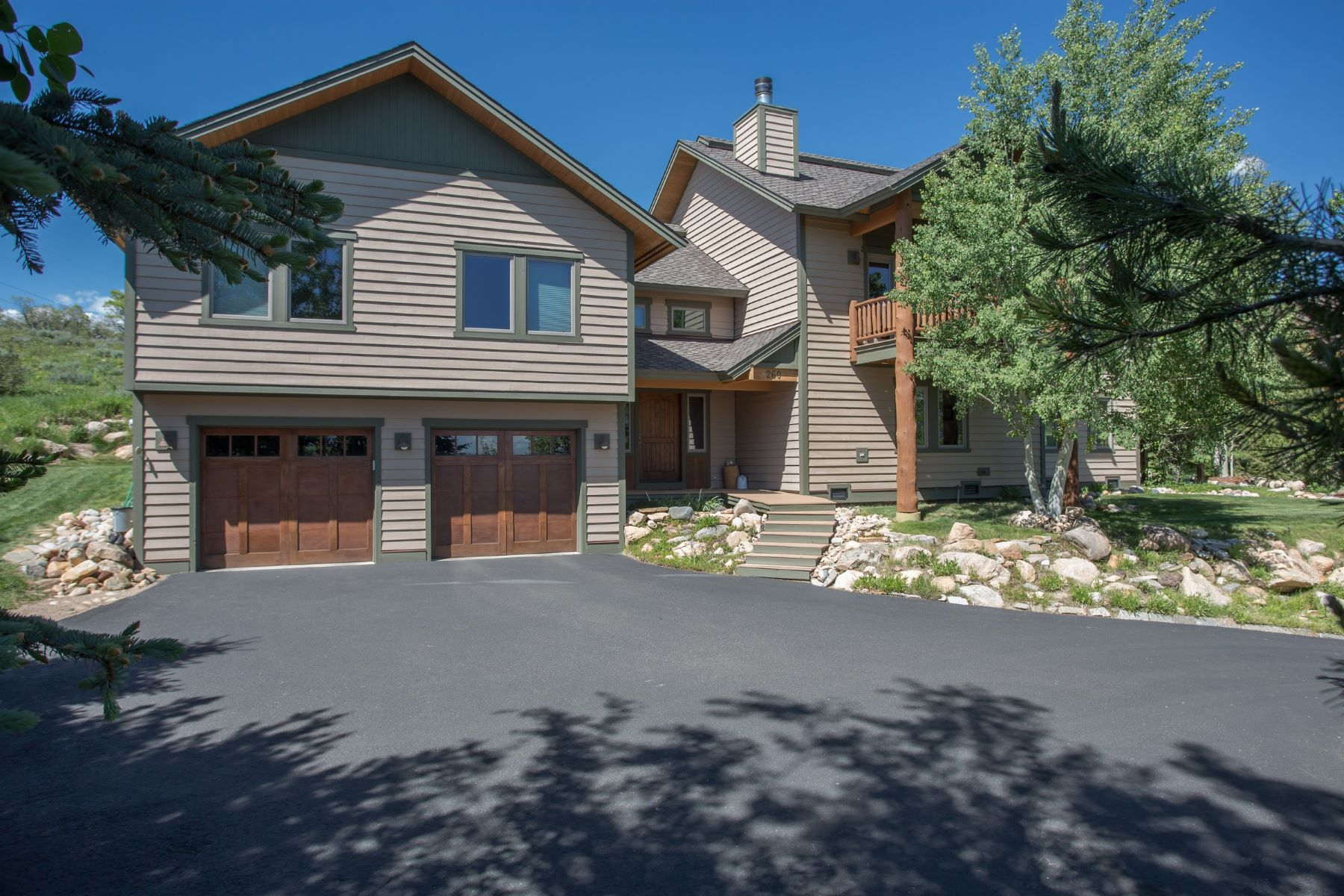 Single Family Home for Rent at 5 Bedroom Luxury Home in Fish Creek Falls 260 Storm Peak Ct Steamboat Springs, Colorado 80487 United States
