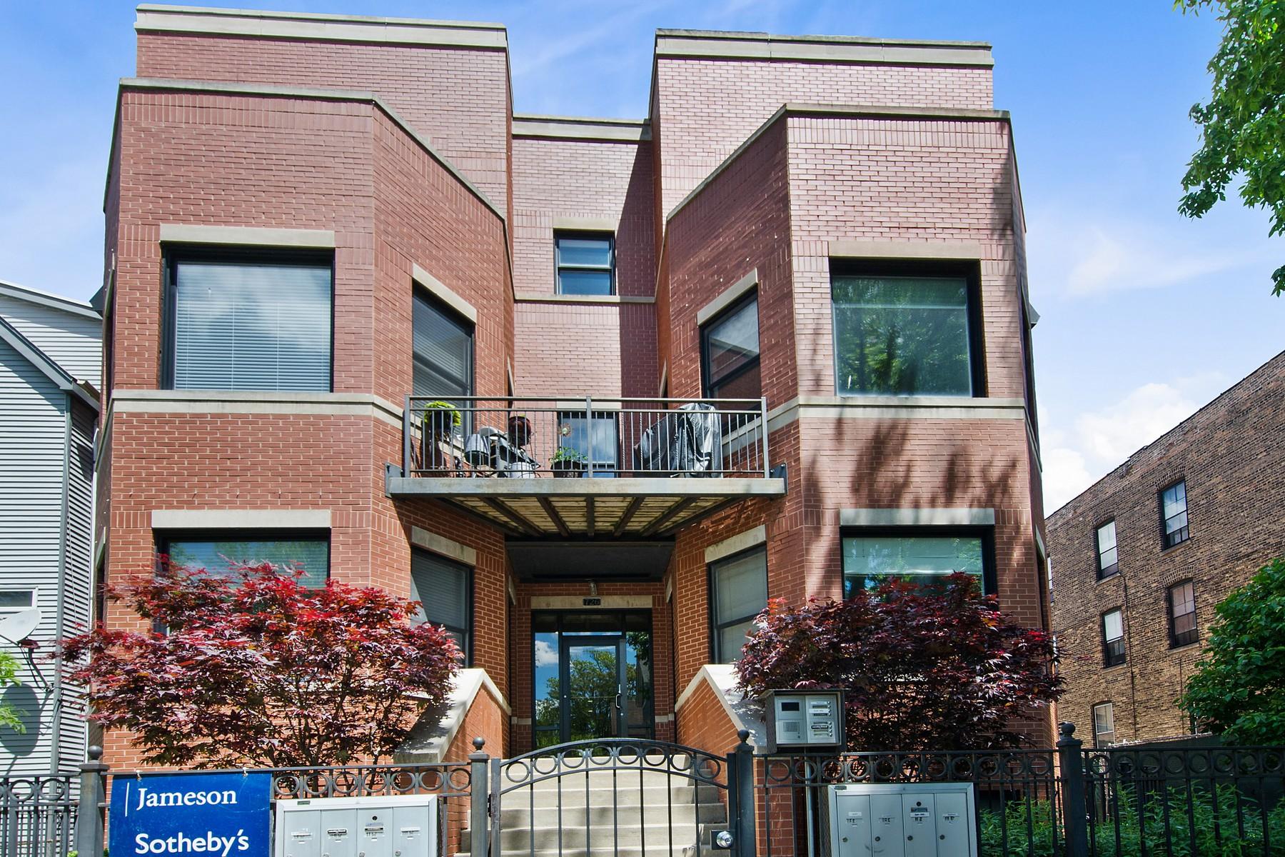 Condominium for Sale at Stunning Prime Lincoln Park Duplex-Down 726 W Schubert #1RE Chicago, Illinois, 60614 United States