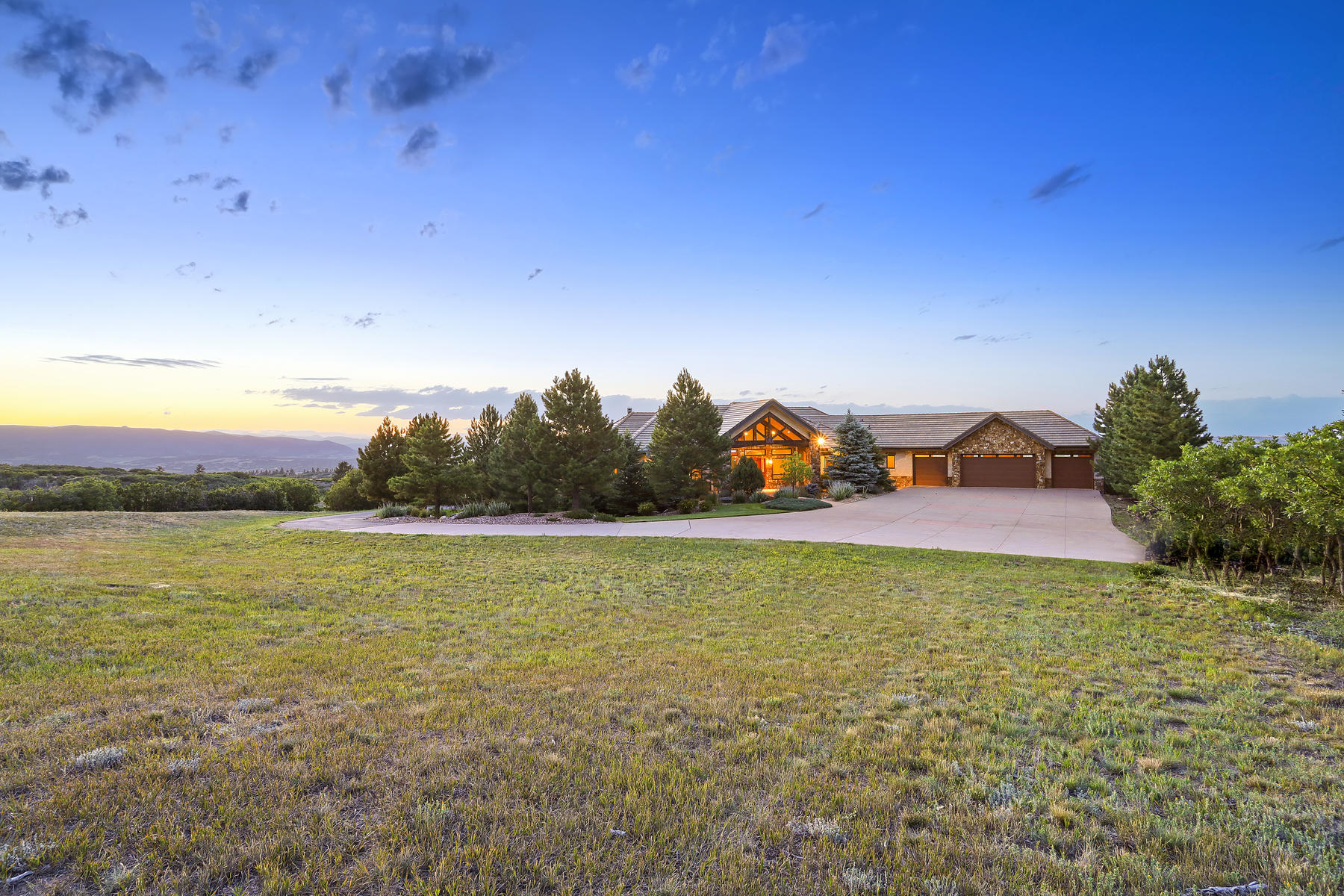Single Family Homes for Active at Magnificent Views Backing to Forested Open Space 2530 Castle Butte Drive Castle Rock, Colorado 80109 United States