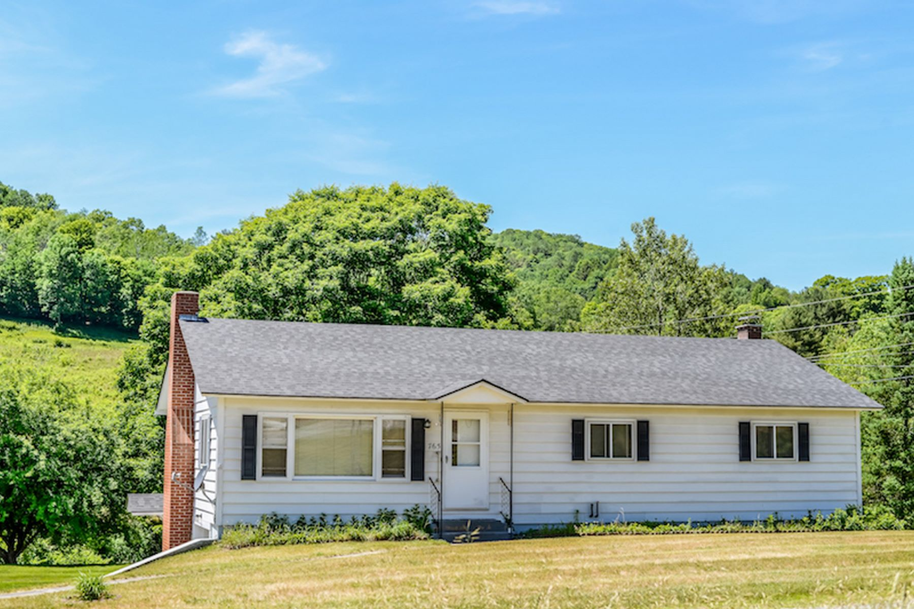 Single Family Home for Sale at Four Bedroom Ranch in East Corinth 765 Village Rd Corinth, Vermont 05039 United States