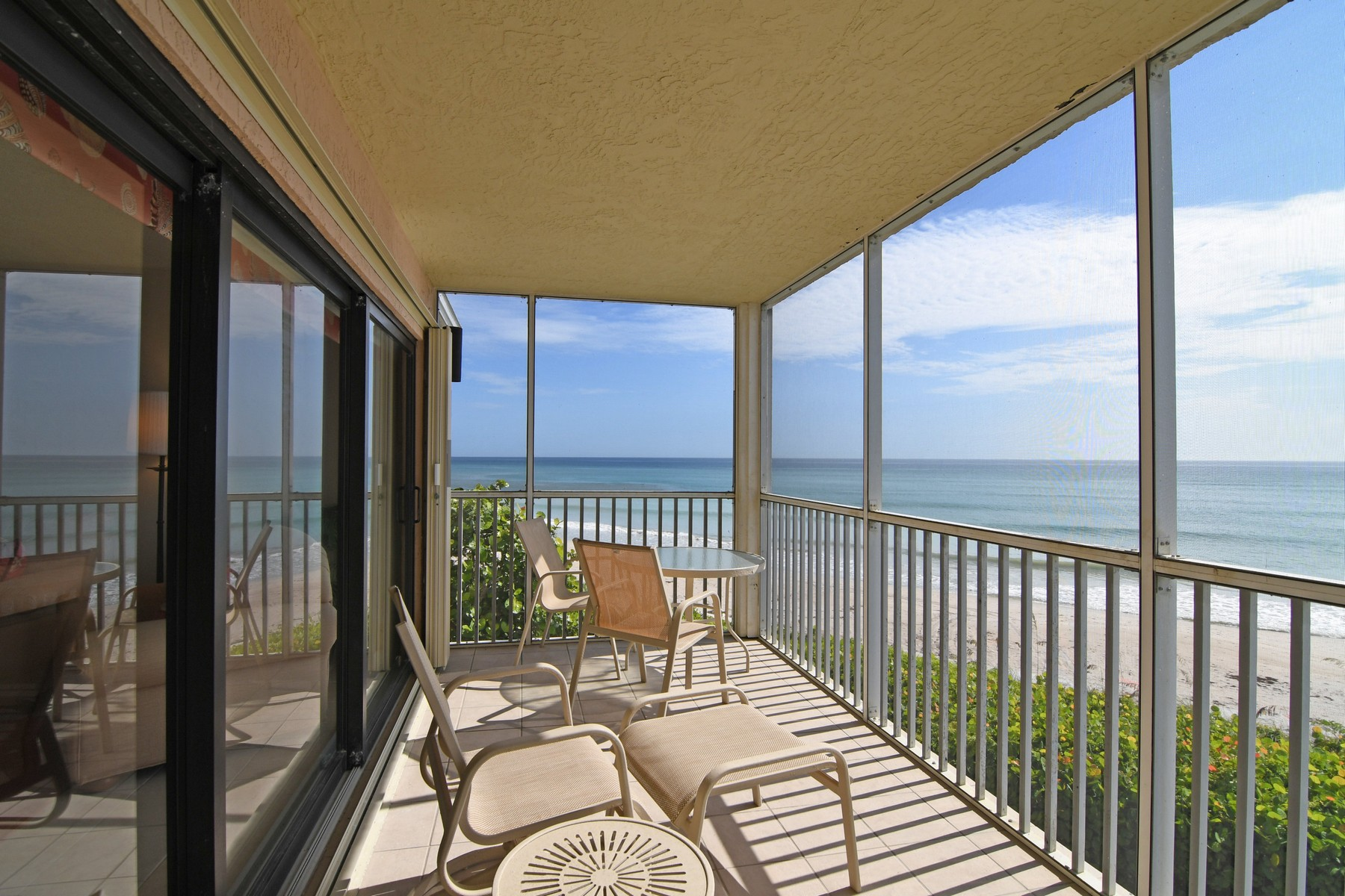 Condominium for Sale at Sea Oaks Oceanfront Condo 8840 S Sea Oaks Way #206 Vero Beach, Florida 32963 United States