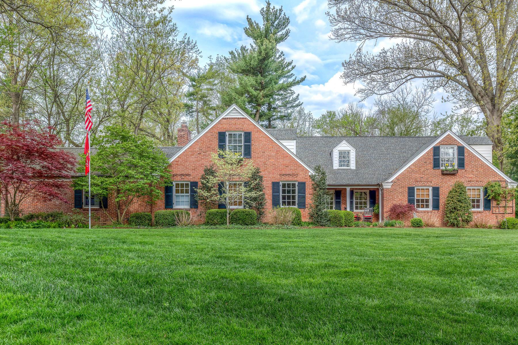 獨棟家庭住宅 為 出售 在 Wakefield Drive 9 Wakefield Dr Ladue, 密蘇里州, 63124 美國