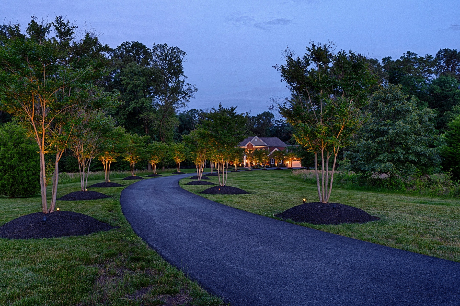 single family homes for Sale at Modern Estate Nestled on 20 Acres 41438 Hagley Place Leesburg, Virginia 20175 United States