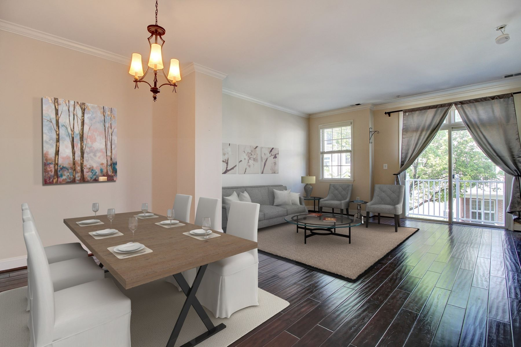 Townhouse for Rent at Jacobs and Bulls Ferry 270 Roslyn Ct, West New York, New Jersey 07093 United States