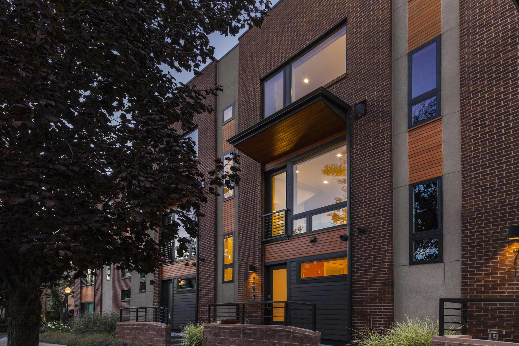 Townhouse for Active at Modern Masterpiece Is A Must See! 709 E 24th Ave Denver, Colorado 80205 United States