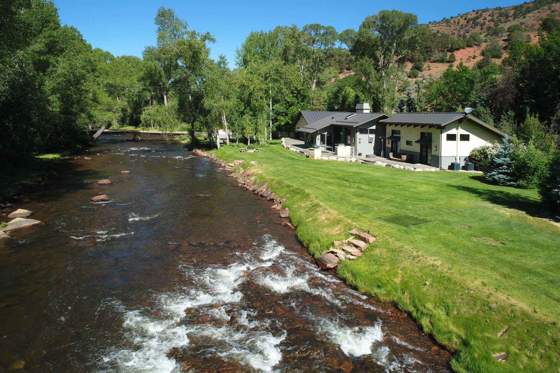 獨棟家庭住宅 為 出售 在 River Front Ranch in Peachblow 7800 Frying Pan Road Basalt, 科羅拉多州, 81621 美國