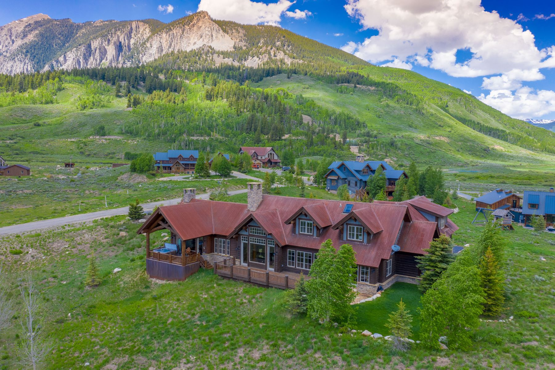 Single Family Homes for Active at Rustic Elegance at Buckhorn Ranch 15 Buckhorn Way Crested Butte, Colorado 81224 United States
