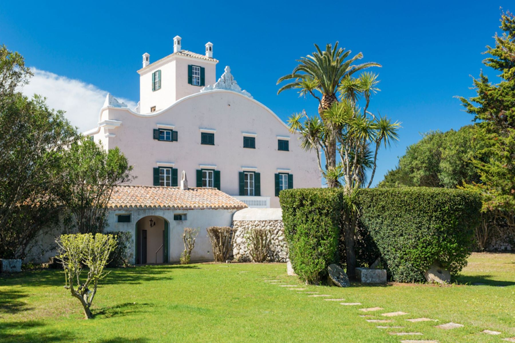 Single Family Home for Sale at Gorgeous luxury property with endless gardens Menorca, Menorca Spain