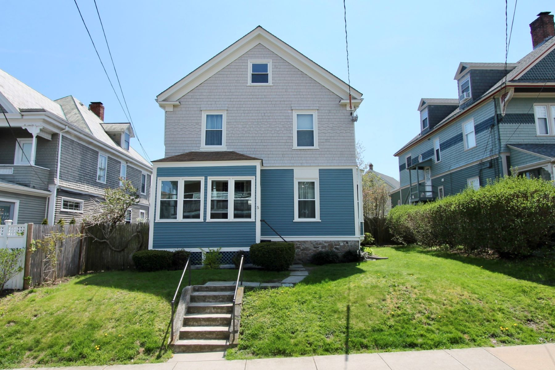 Single Family Homes for Sale at North Broadway Gem 5 Bliss Road Newport, Rhode Island 02840 United States