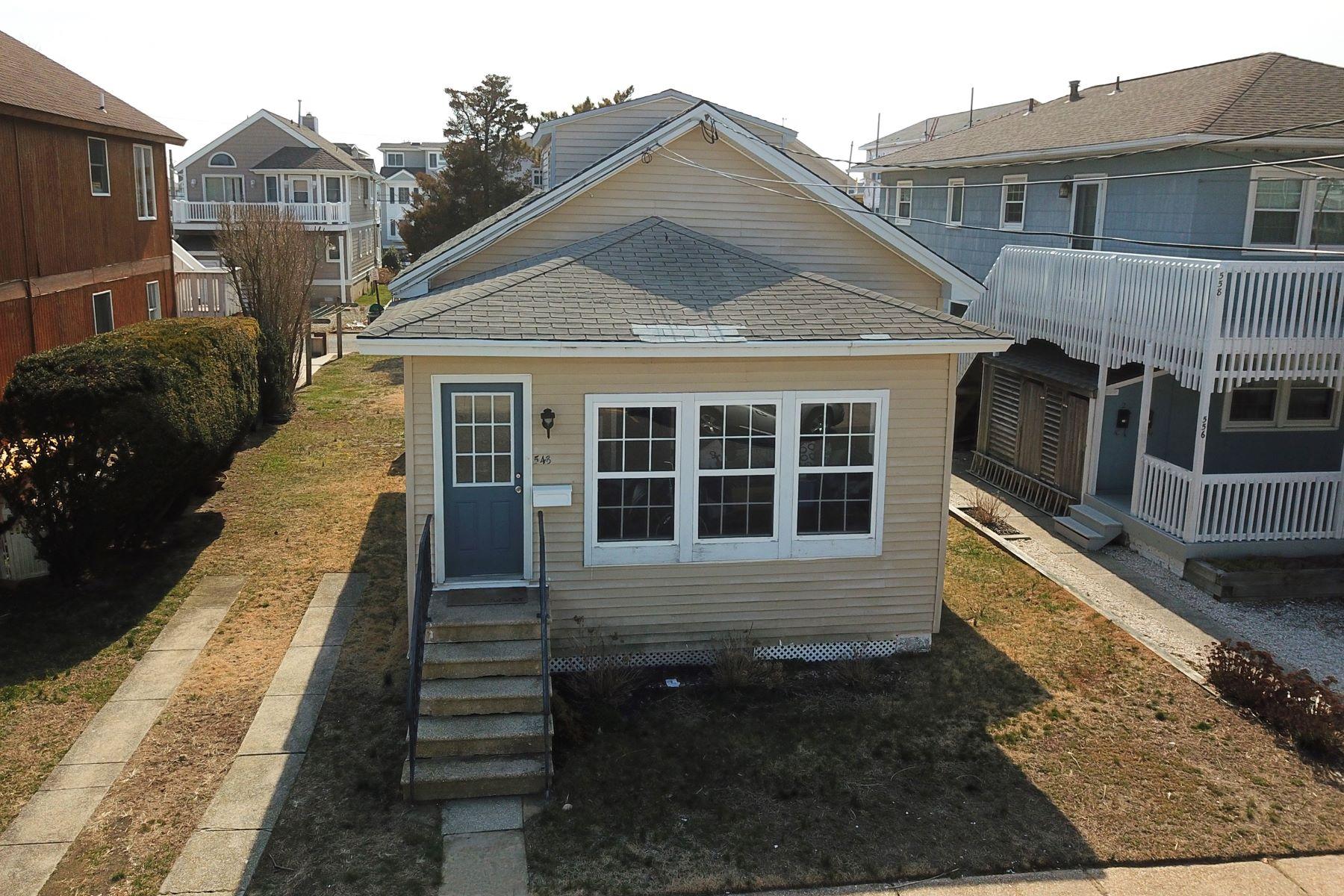 단독 가정 주택 용 매매 에 Avalon Starter Home 548 21st Street, Avalon, 뉴저지 08202 미국