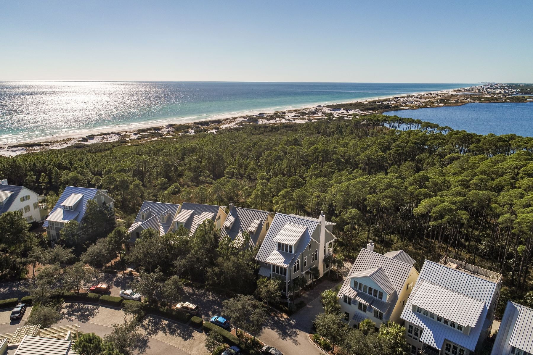 Casa Unifamiliar por un Venta en Luxurious Rustic Modern Home for Discriminating Lifestyle with Water Views 31 Park Row Lane, Watercolor, Santa Rosa Beach, Florida, 32459 Estados Unidos