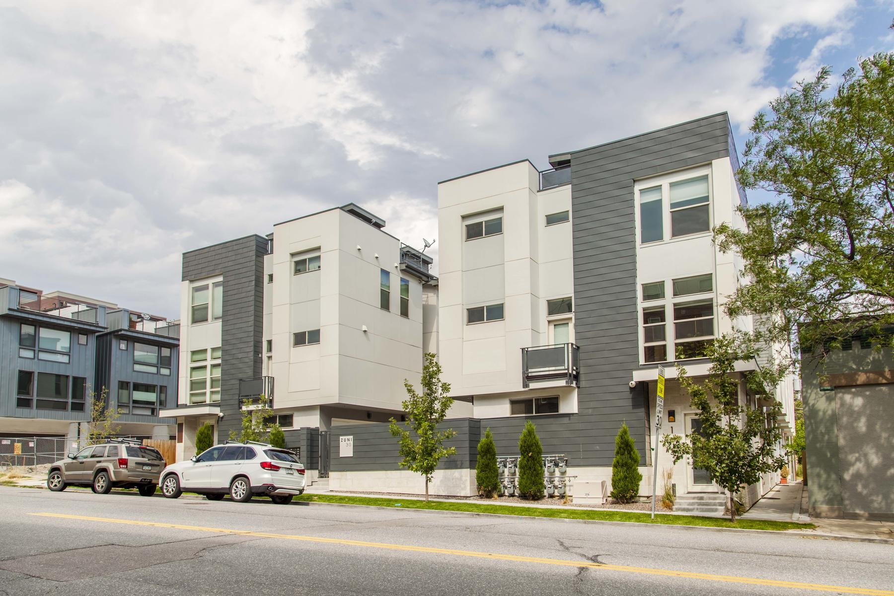 Townhouse for Active at Spectacular Townhouse At Zuni30 3016 Zuni St #5 Denver, Colorado 80211 United States