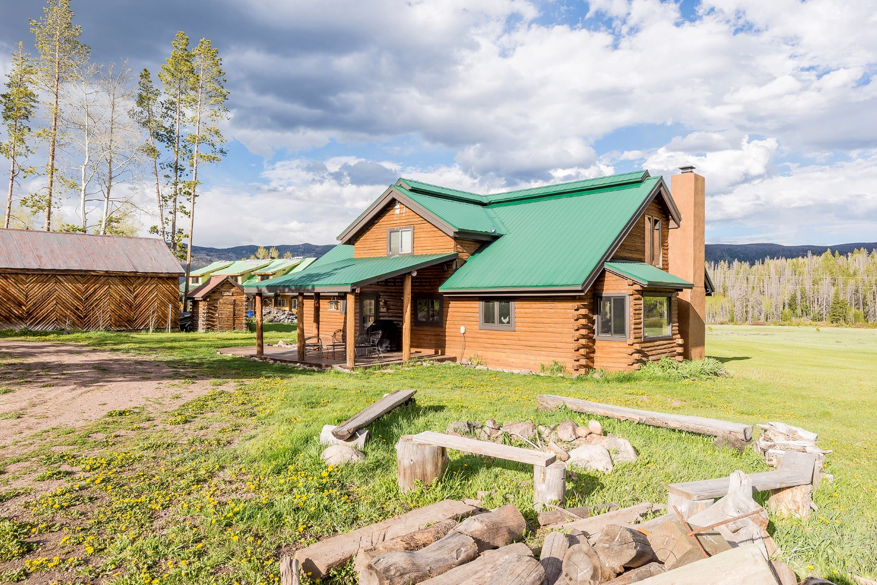 Single Family Home for Sale at Pristine Natural Surroundings in Stagecoach, CO 33015 Ramuda Trail Oak Creek, Colorado, 80467 United States