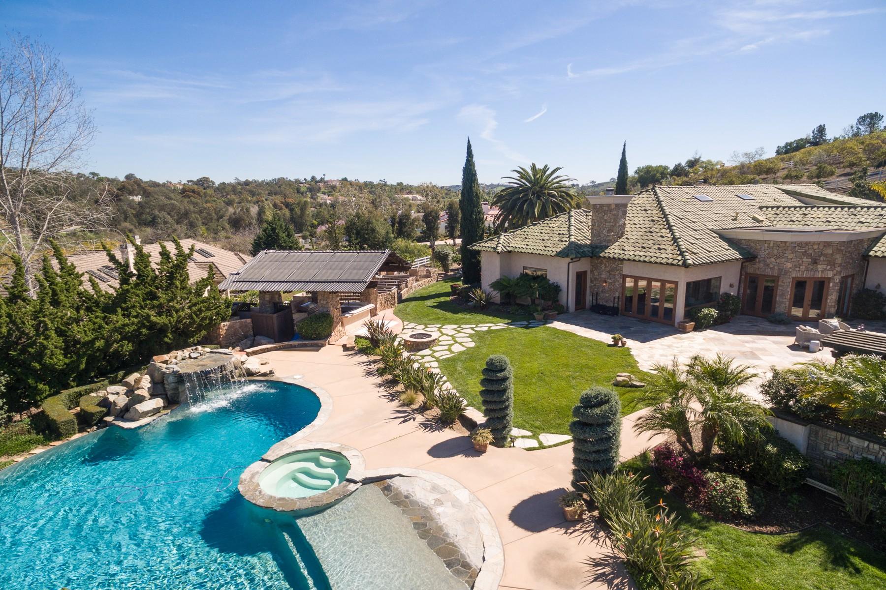 Casa Unifamiliar por un Venta en 1099 Double LL Ranch Road Encinitas, California, 92024 Estados Unidos