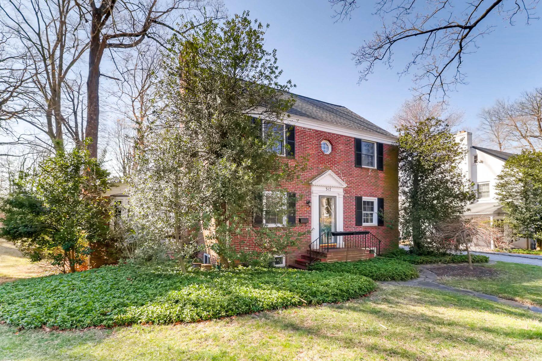 Частный односемейный дом для того Продажа на 317 Dixie Drive Towson, Maryland 21204 Towson, Мэриленд 21204 Соединенные Штаты