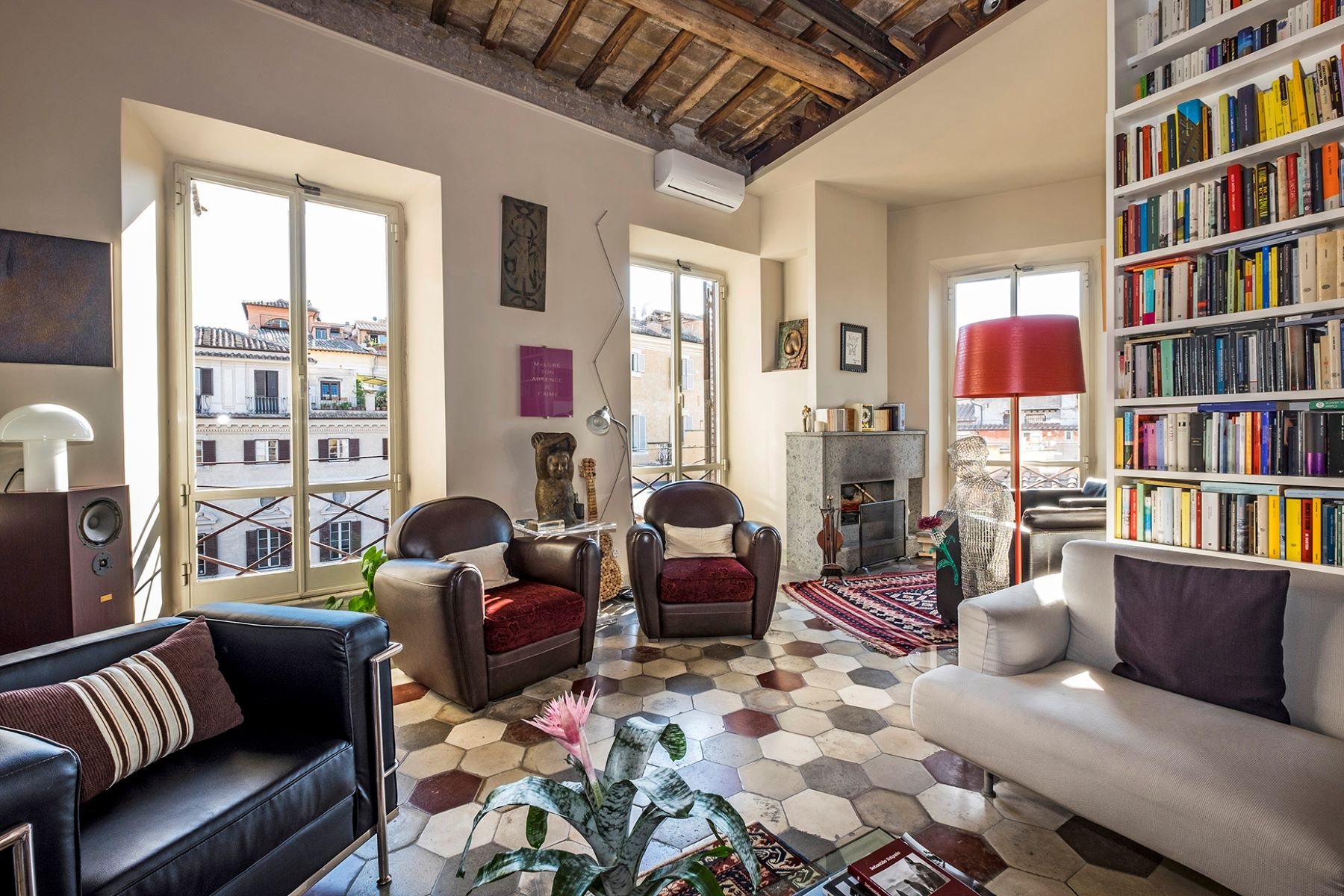 Apartment for Sale at Design apartment with wonderful views on historic Rome Piazza Margana 24 Rome, Rome, 00186 Italy