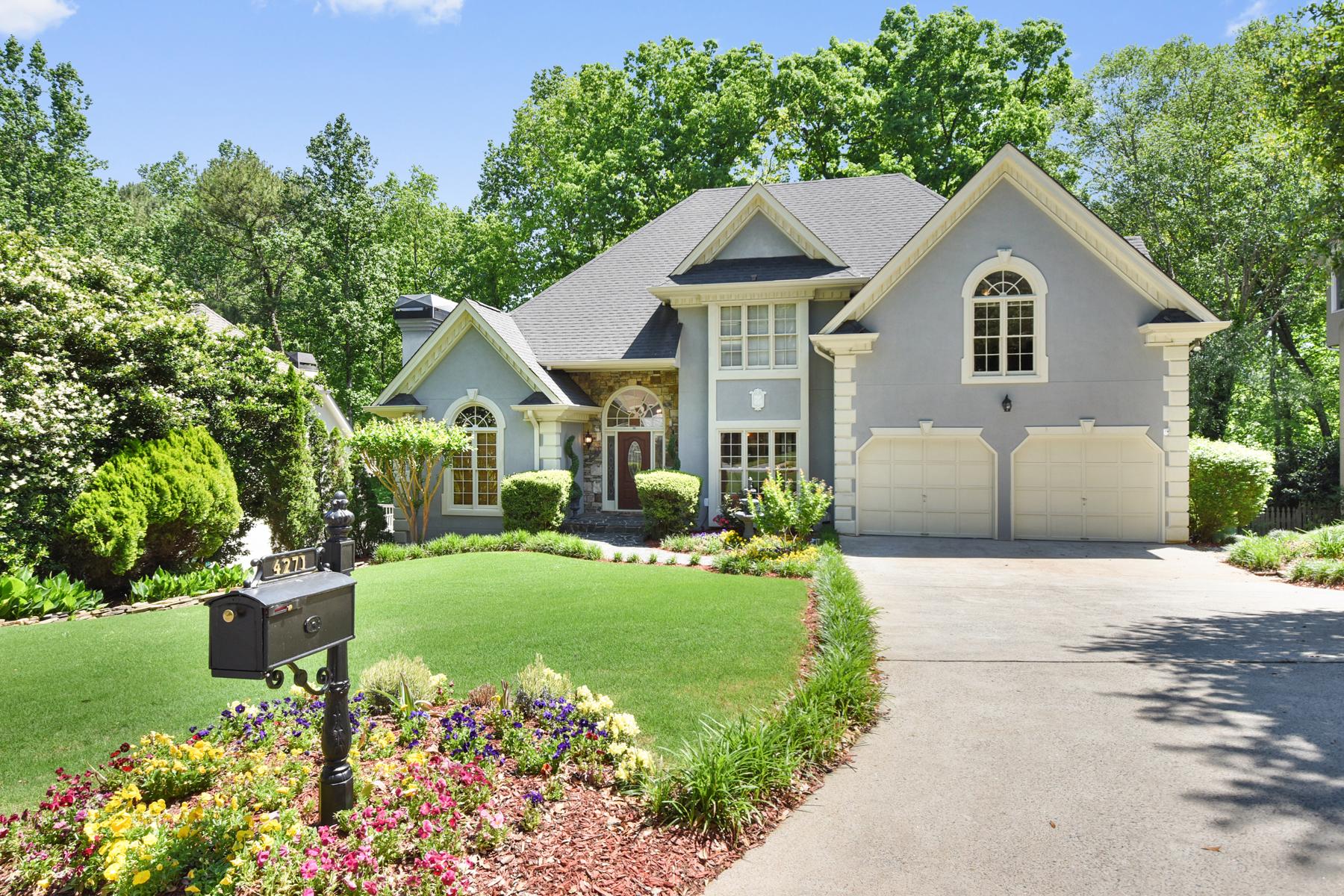 단독 가정 주택 용 매매 에 Picture Perfect In Vinings Glen 4271 Ridgehurst Drive SE Smyrna, 조지아, 30080 미국