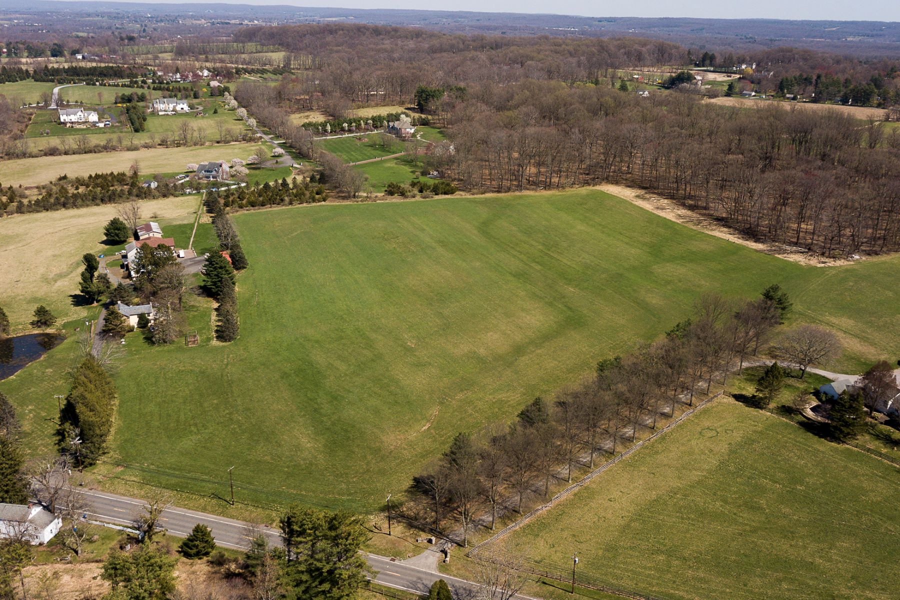 Land for Sale at 18+ Acre Parcel - Build Your Dream Home 807 Sergeantsville Road, Stockton, New Jersey 08559 United States