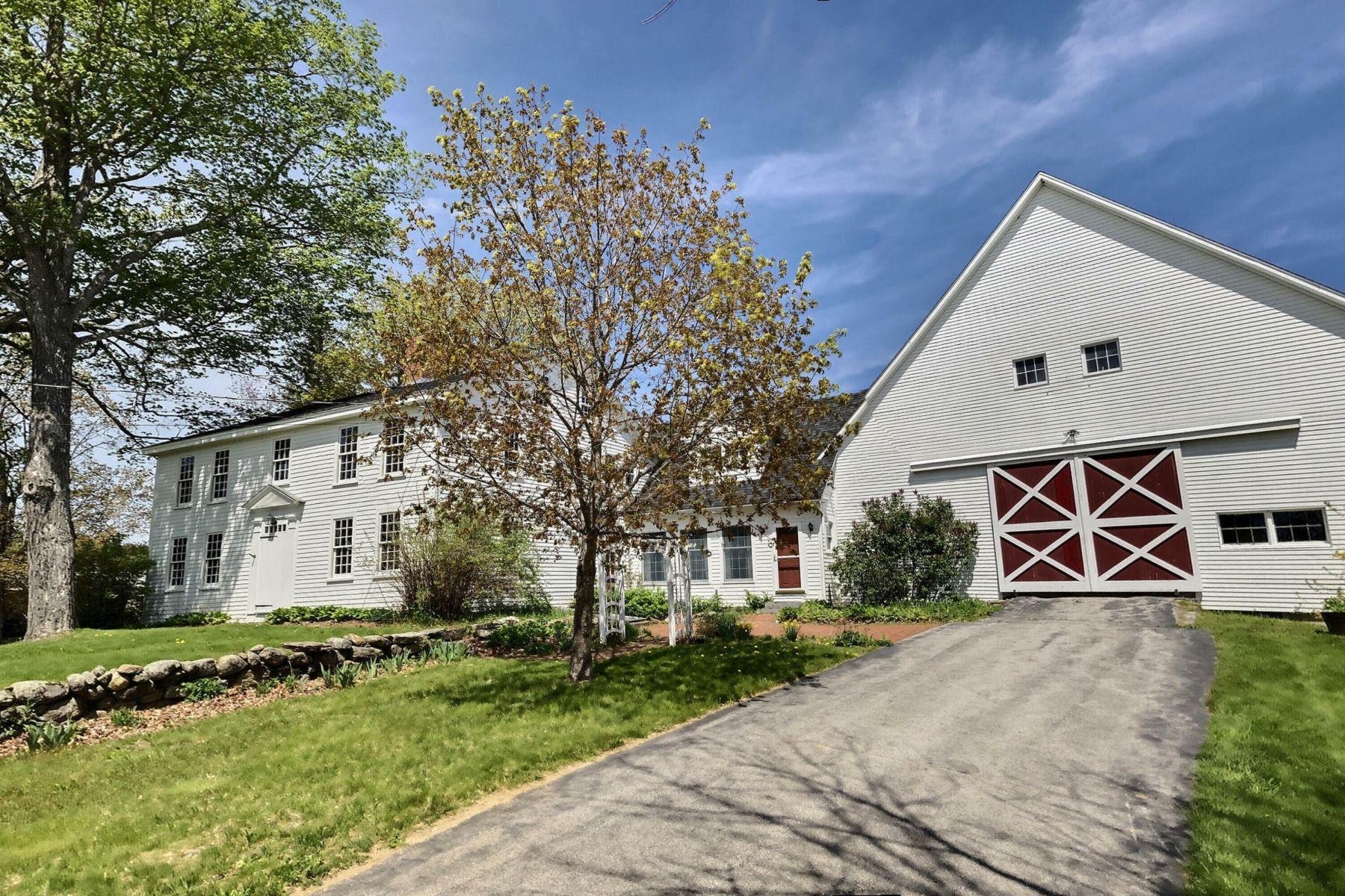 Single Family Homes 为 销售 在 231 Emery Road 安德沃, 新罕布什尔州 03216 美国