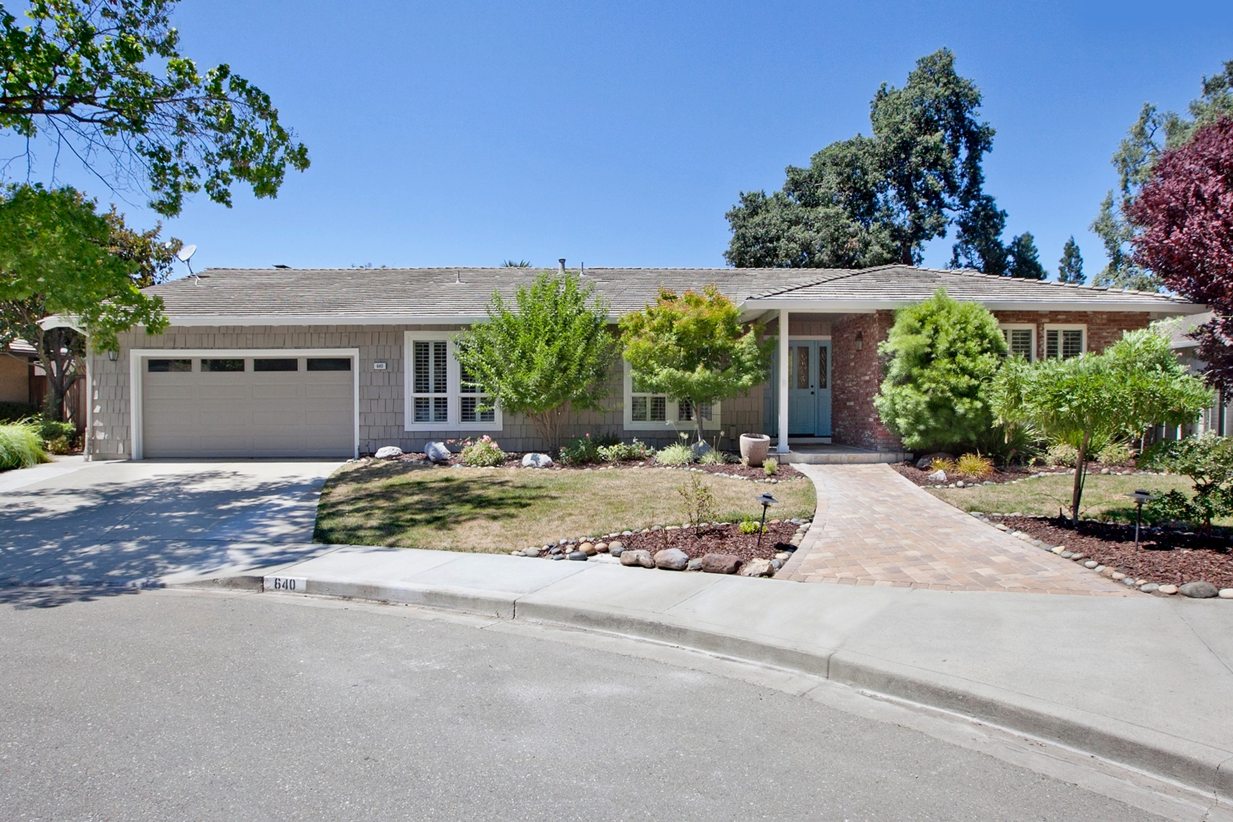 Single Family Home for Sale at Beautifully Remodeled Ranch Style 640 Eliska Court Walnut Creek, California 94598 United States