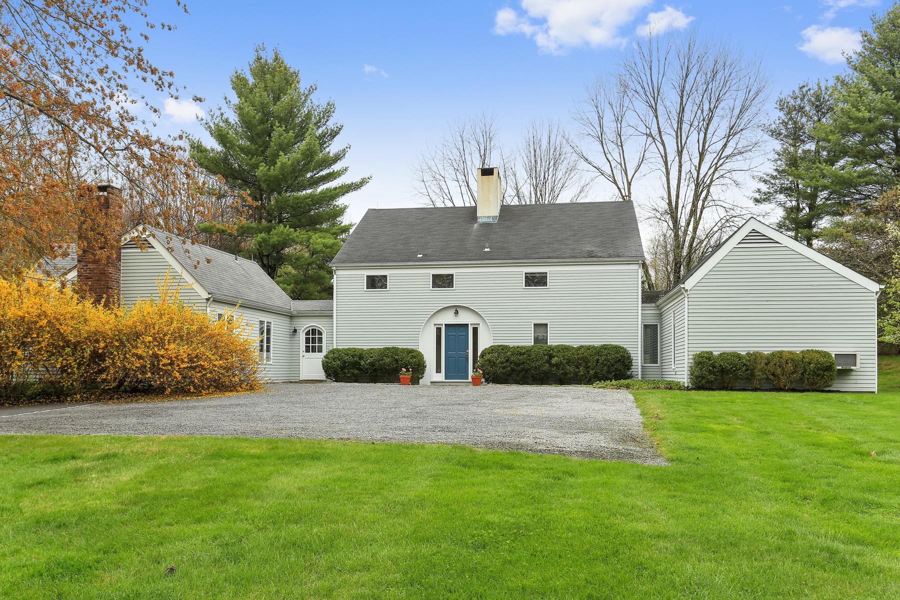 Einfamilienhaus für Verkauf beim Peaceful and Private 45 Watermark Road Bedford, New York, 10506 Vereinigte Staaten